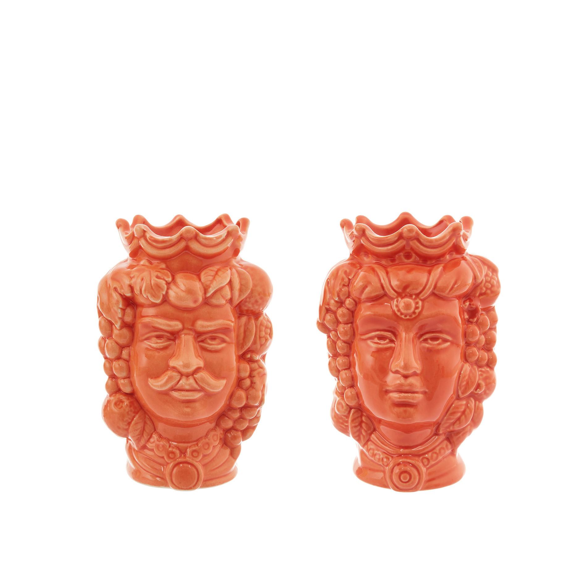 Testa di moro by Ceramiche Siciliane Ruggeri, Arancione, large image number 5