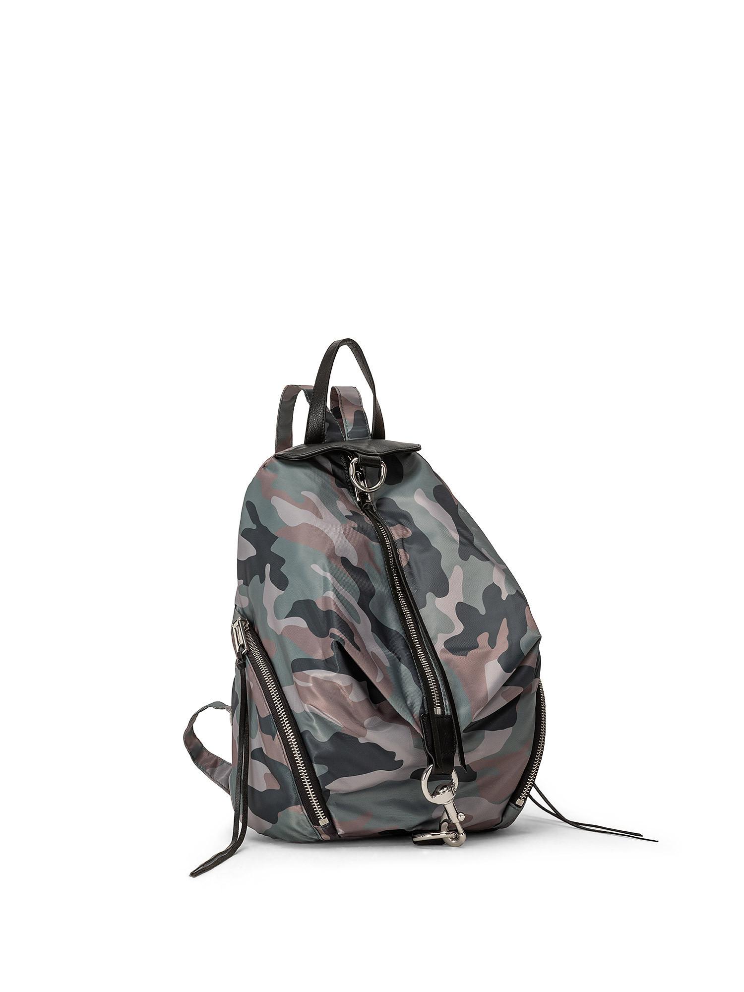 Julian Nylon Backpack, Verde, large image number 1