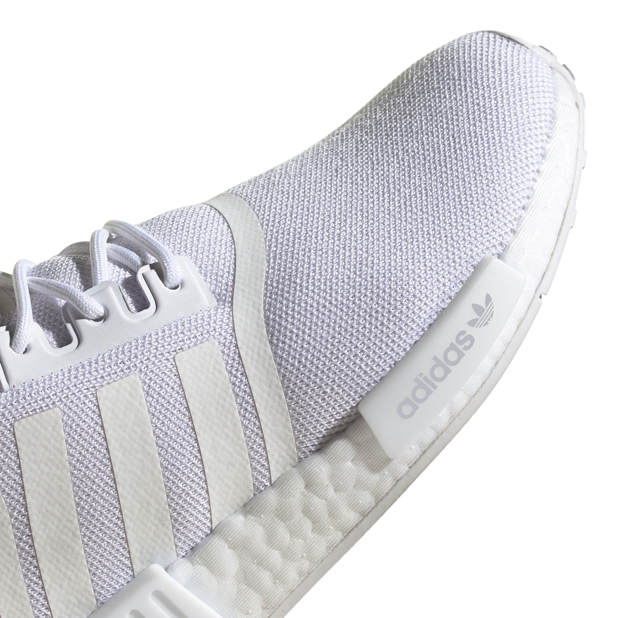 Scarpe donna Adidas Originals NMD_R1 Primeblue, Bianco/Grigio, large image number 11