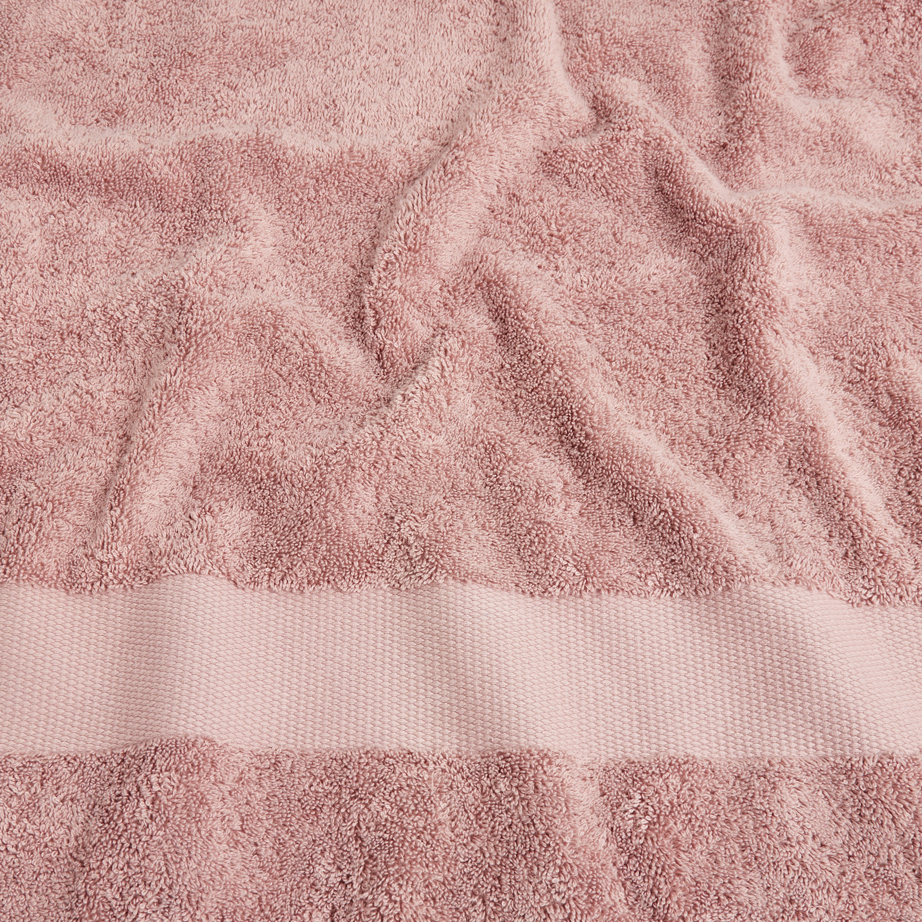 Asciugamano spugna di puro cotone Zefiro, Viola malva, large image number 3