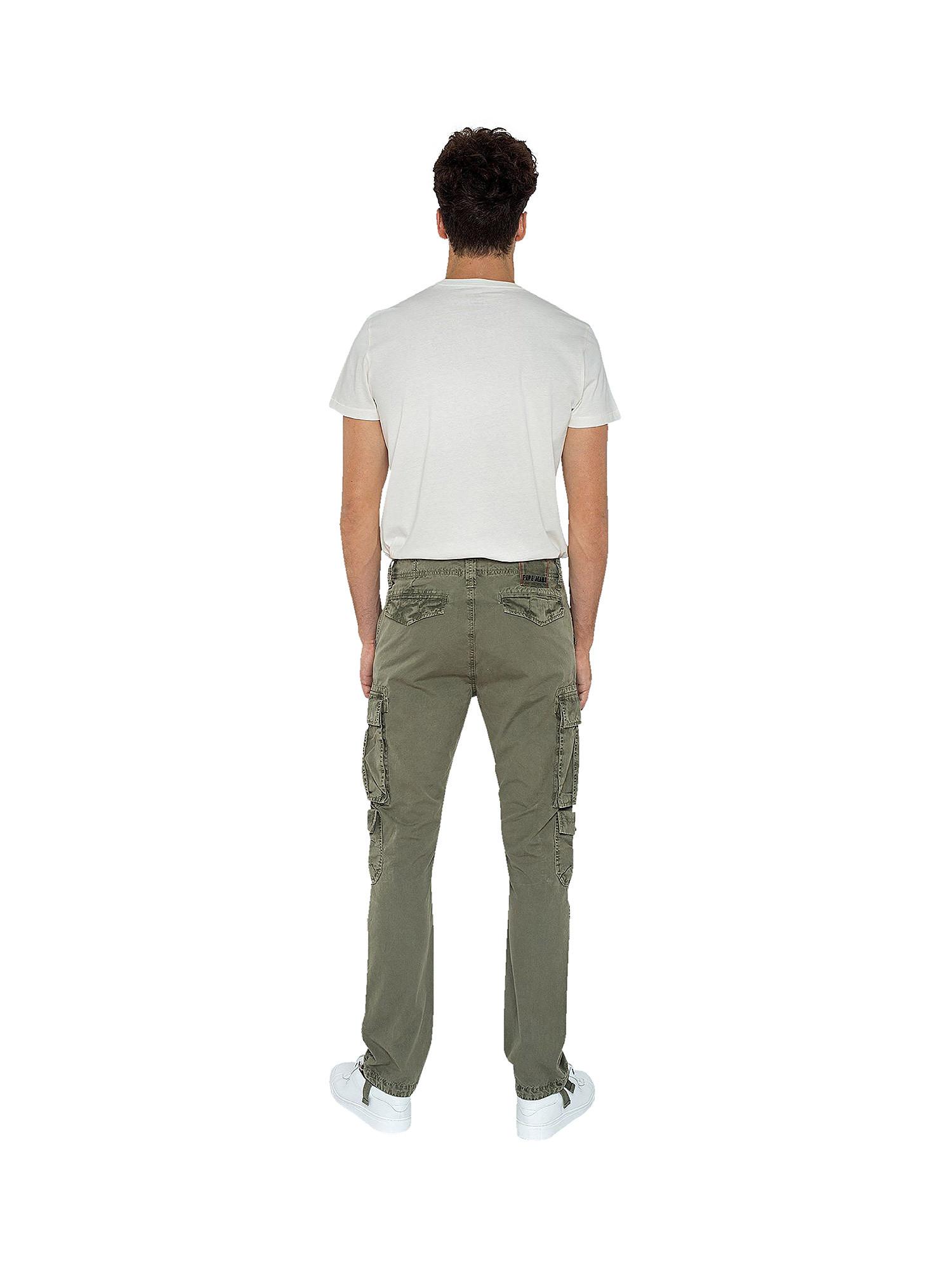 Pantalone 5 tasche, Verde, large image number 4