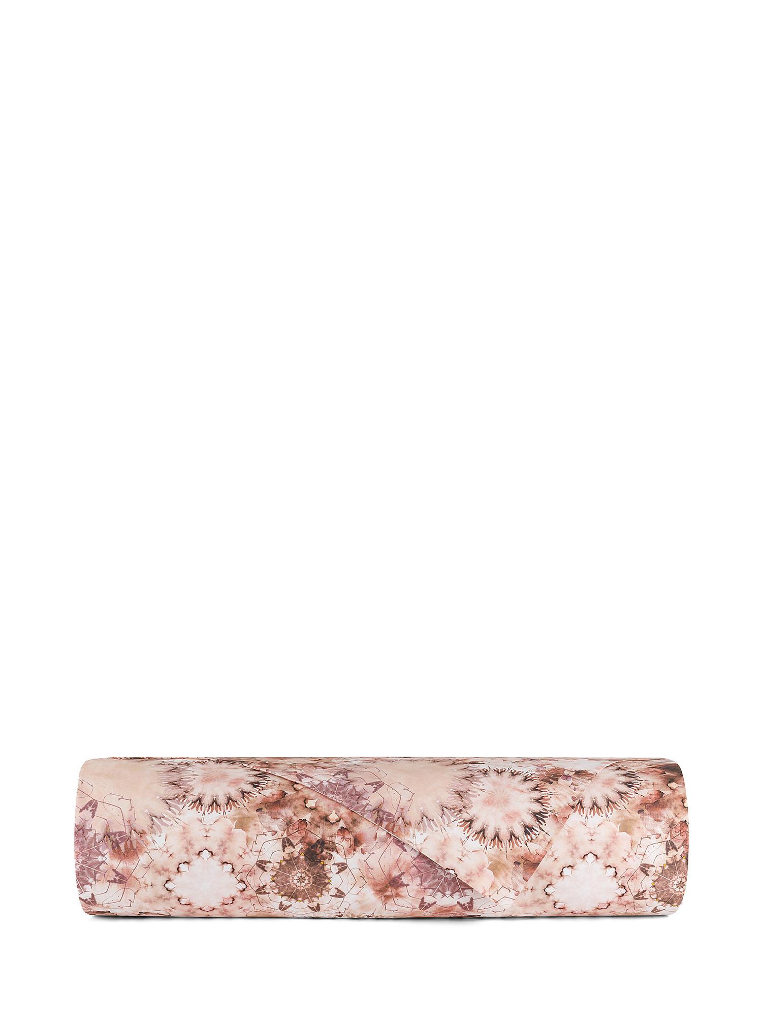 Copripiumino percalle di cotone fantasia floreale, Rosa, large image number 1