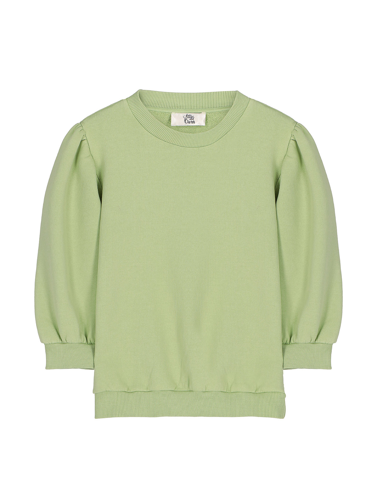 Maglia donna in cotone, Verde lime, large image number 0