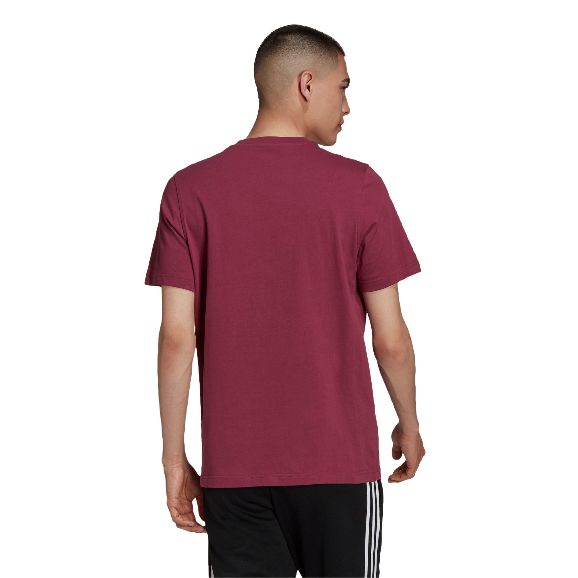 T-shirt uomo adicolor Classics Trefoil, Bianco/Rosso, large image number 1