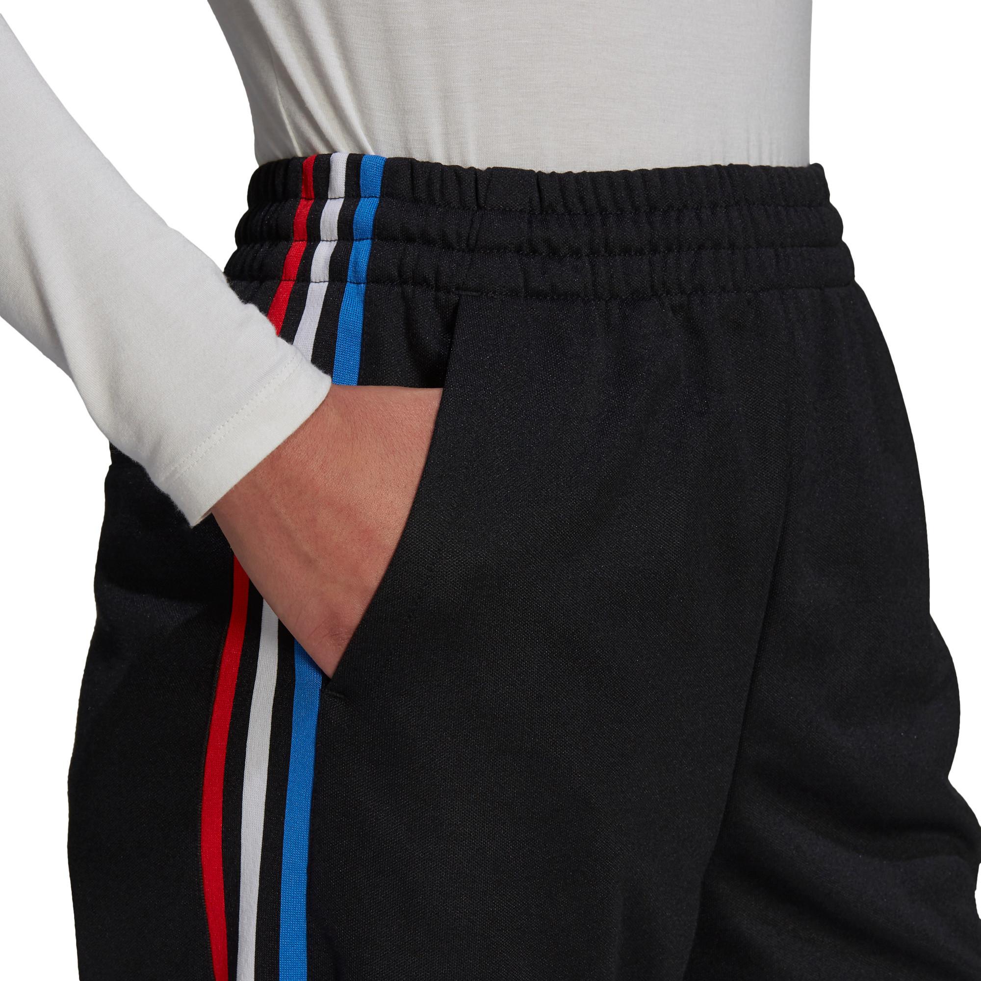 Pantaloni tuta adicolor Tricolor Primeblue, Nero, large image number 5