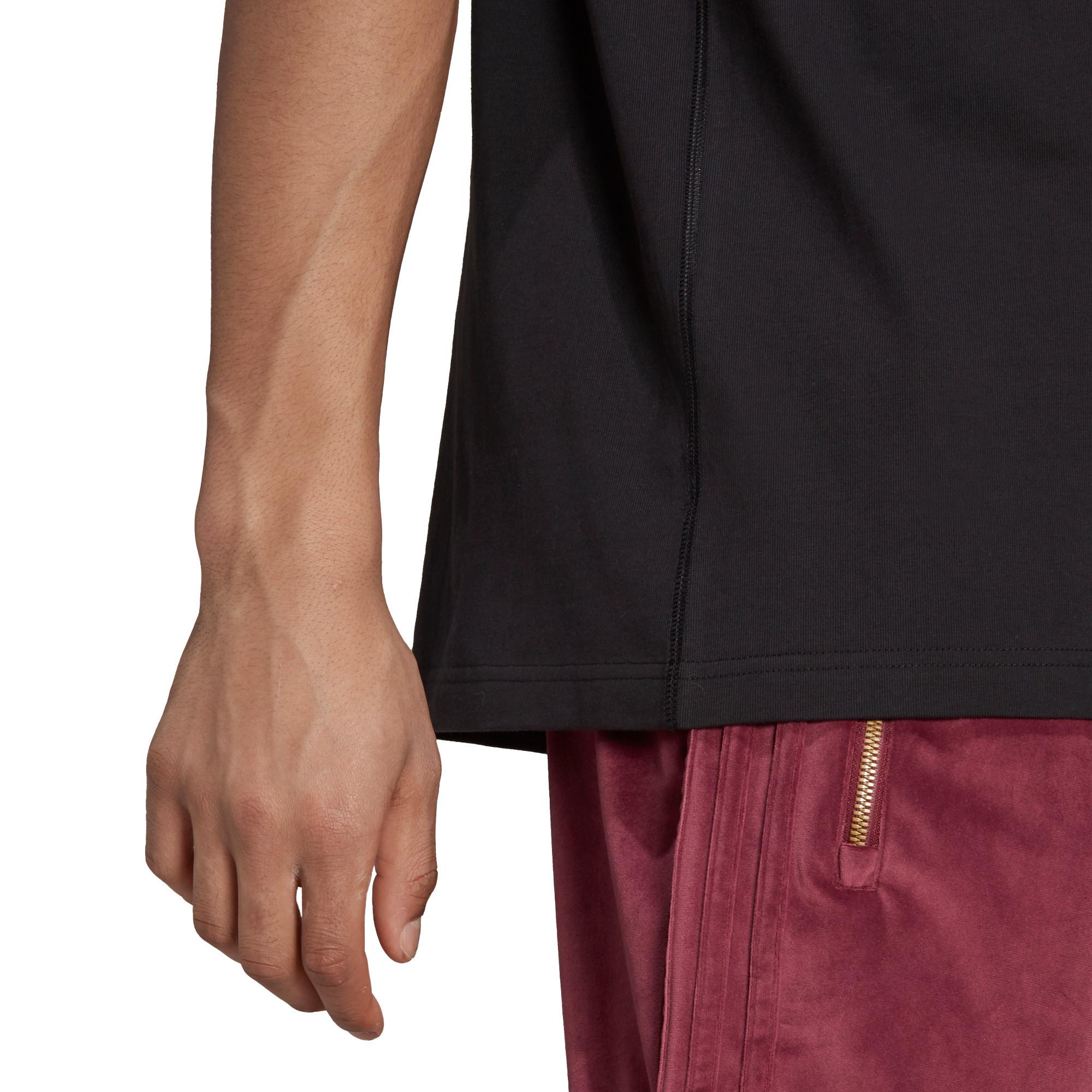 T-shirt uomo adicolor Trefoil, Nero, large image number 6