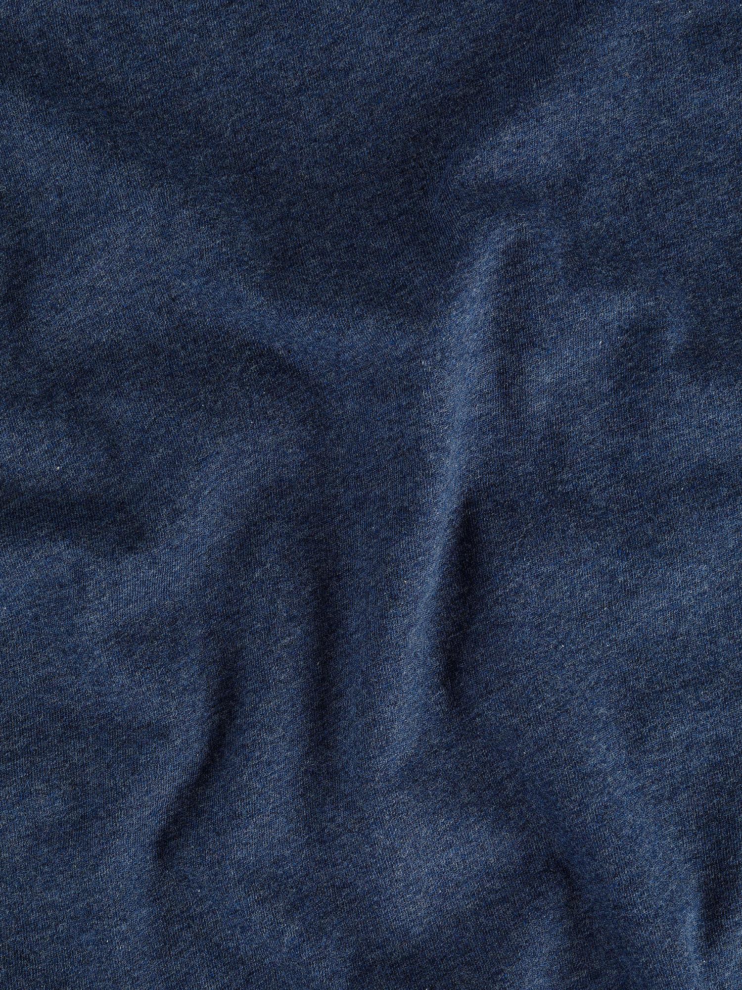 Parure copripiumino jersey di cotone tinta unita, Blu, large image number 2
