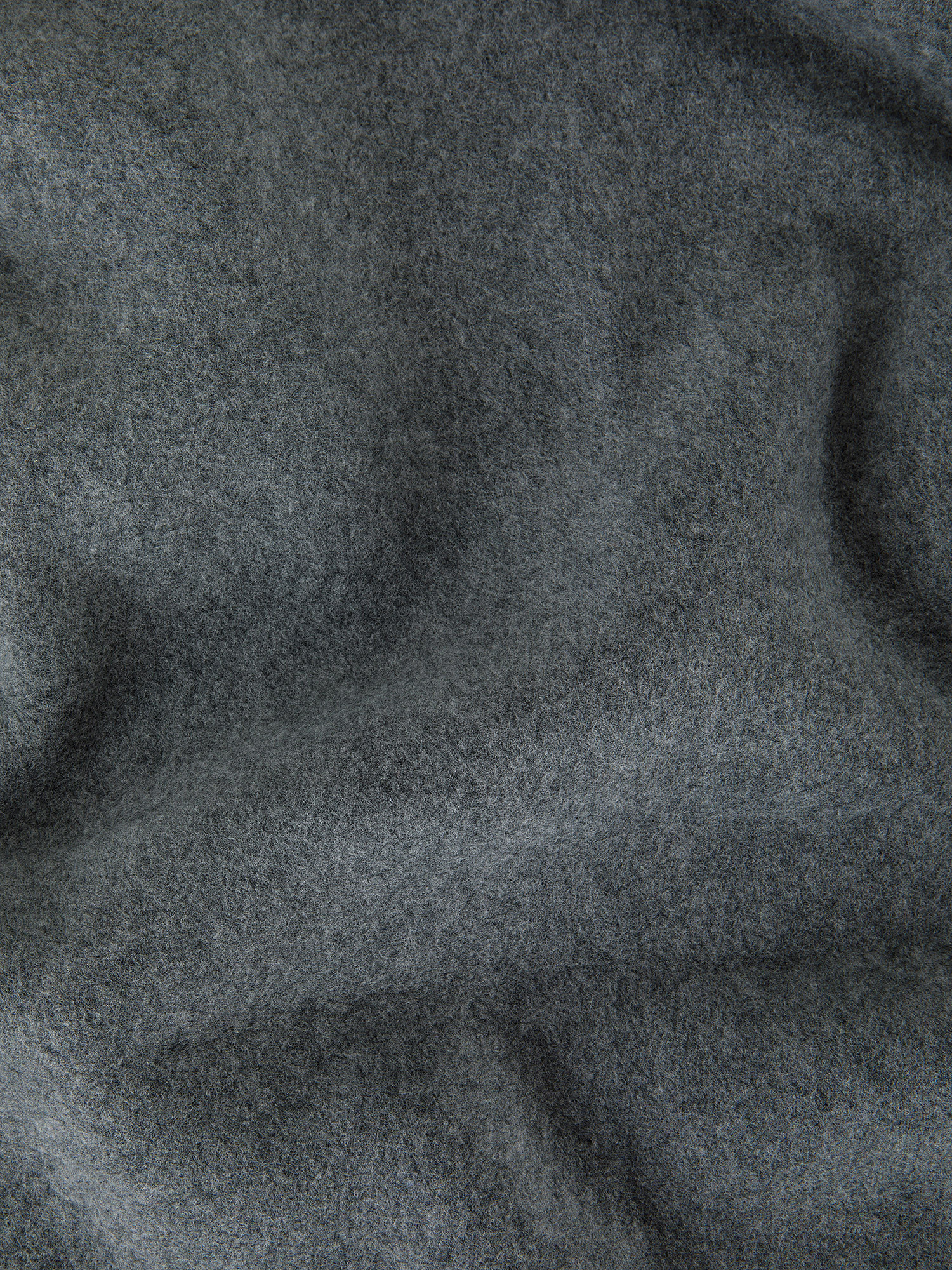 Coperta morbido pile tinta unita, Grigio, large image number 1