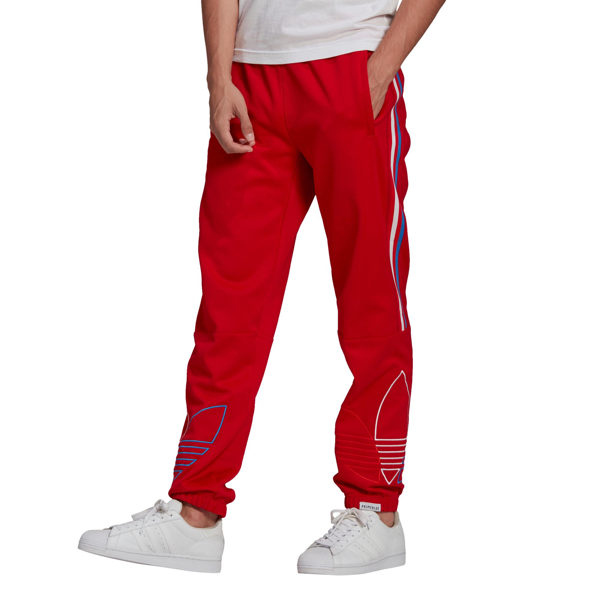 Pantaloni tuta adicolor, Rosso, large image number 1