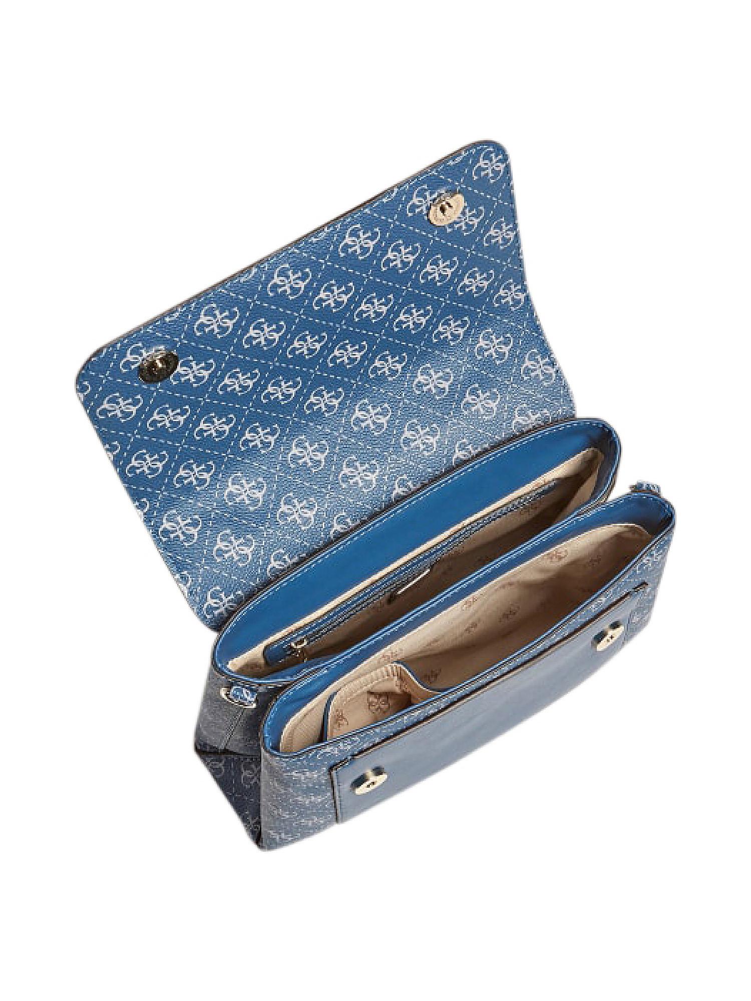 Tyren Top Handle Flap, Blu, large image number 2