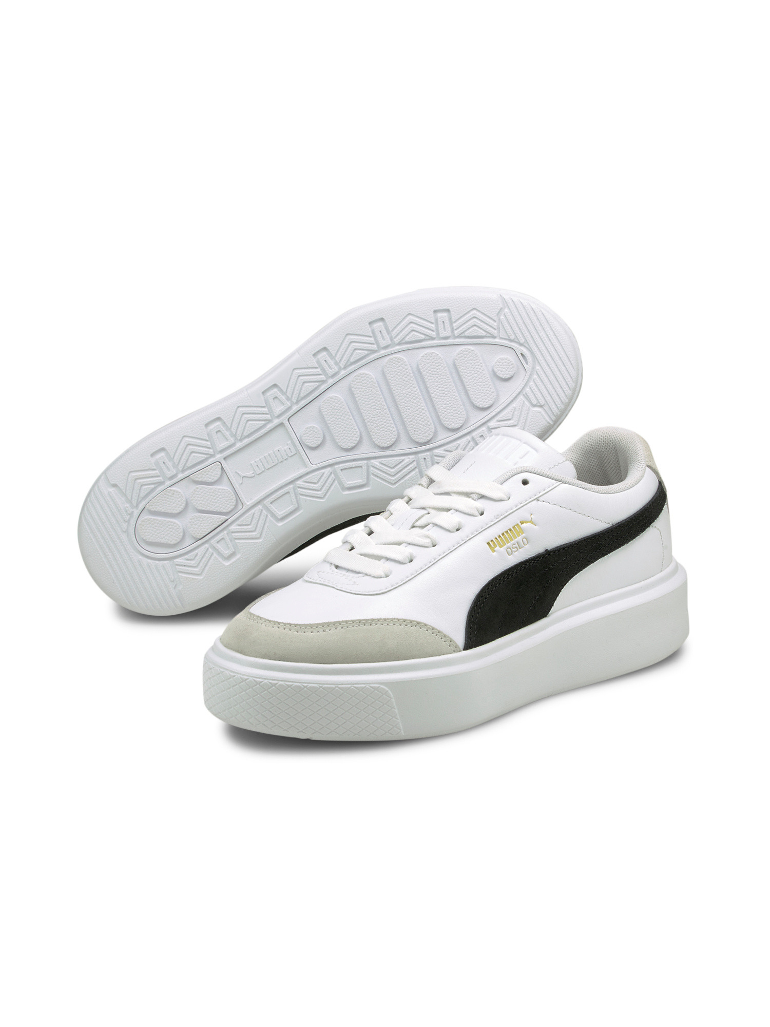 Sneakers Oslo Maya, Nero/Bianco, large image number 5