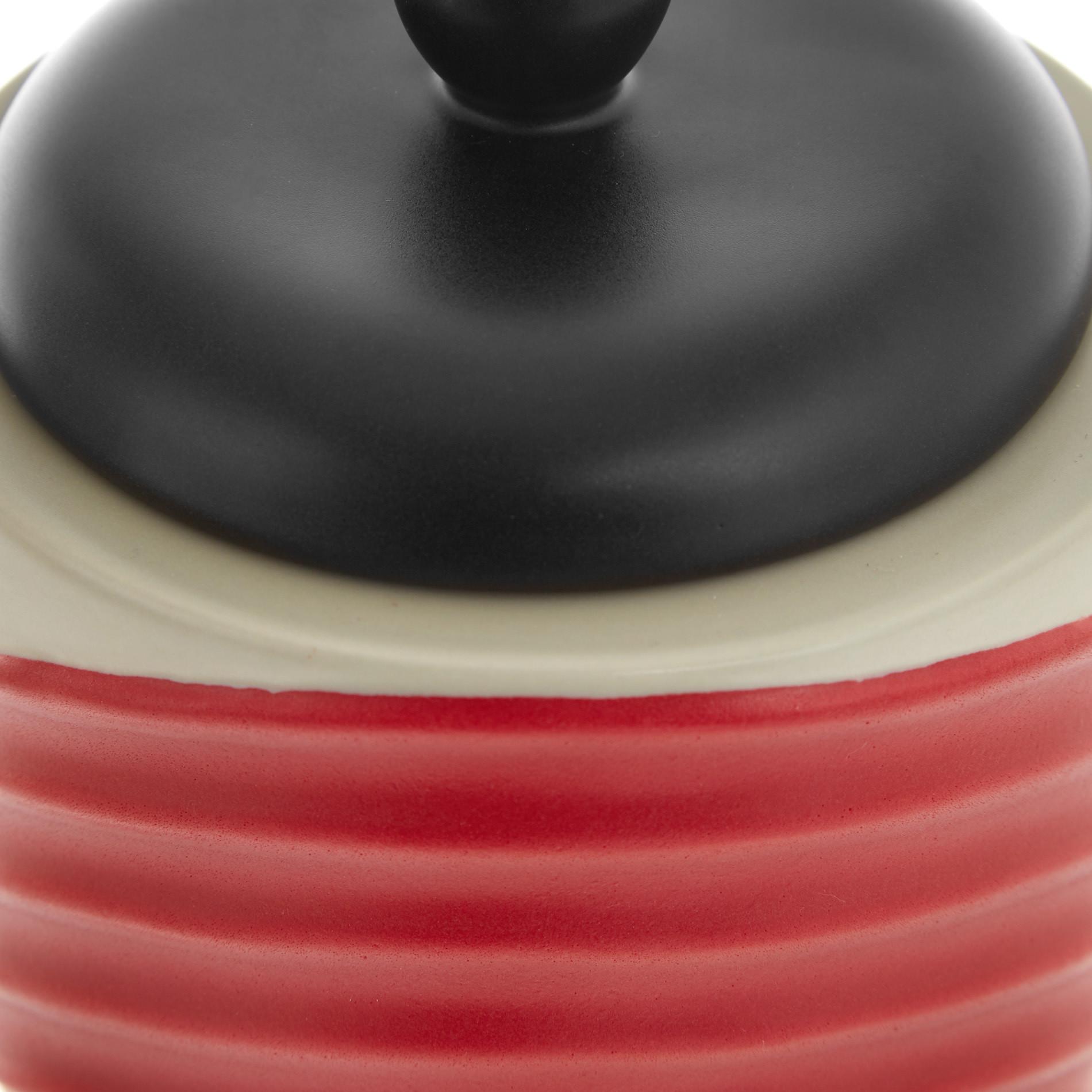 Box ceramica artigianale portoghese, Rosso, large image number 2