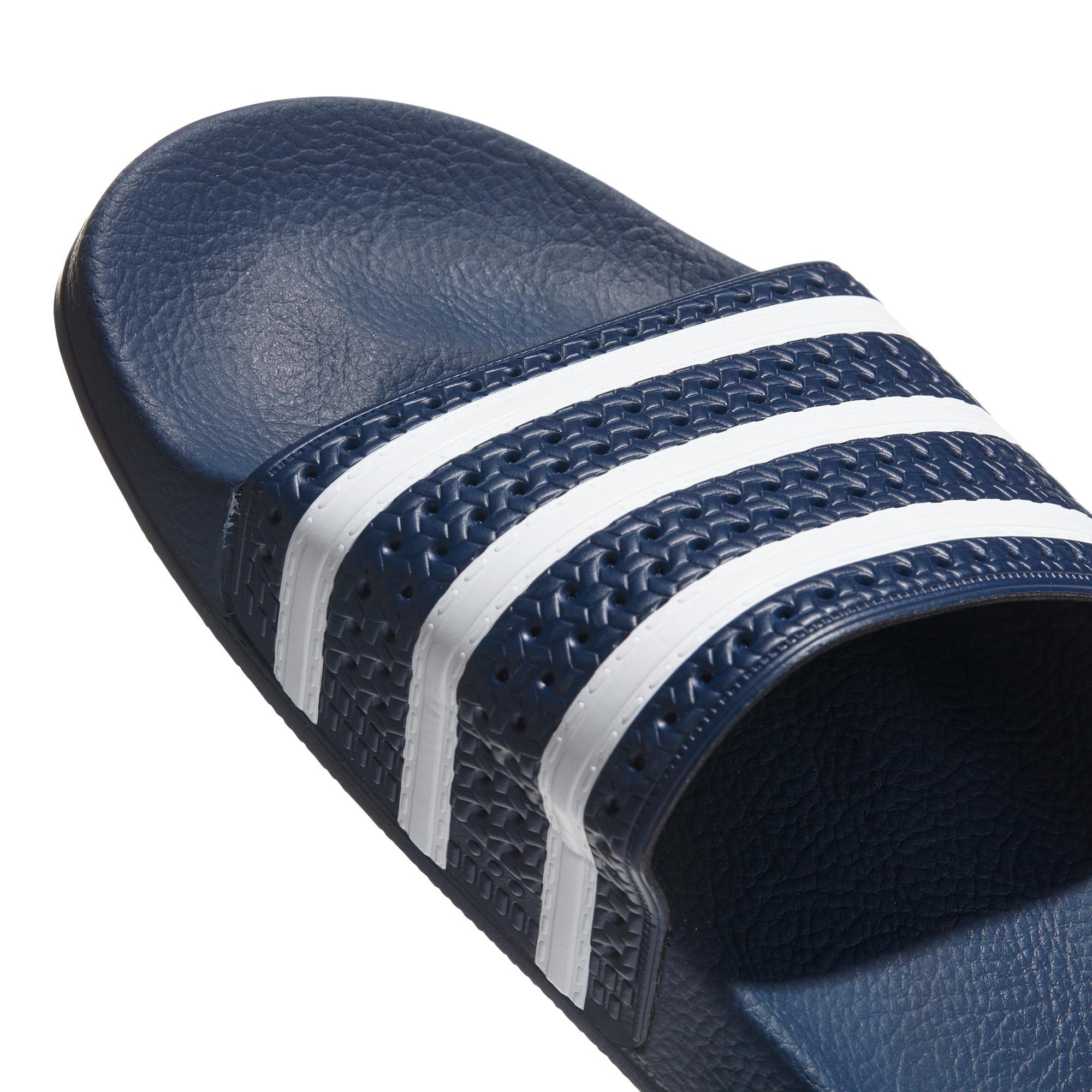 Ciabatte uomo adilette, Blu, large image number 2