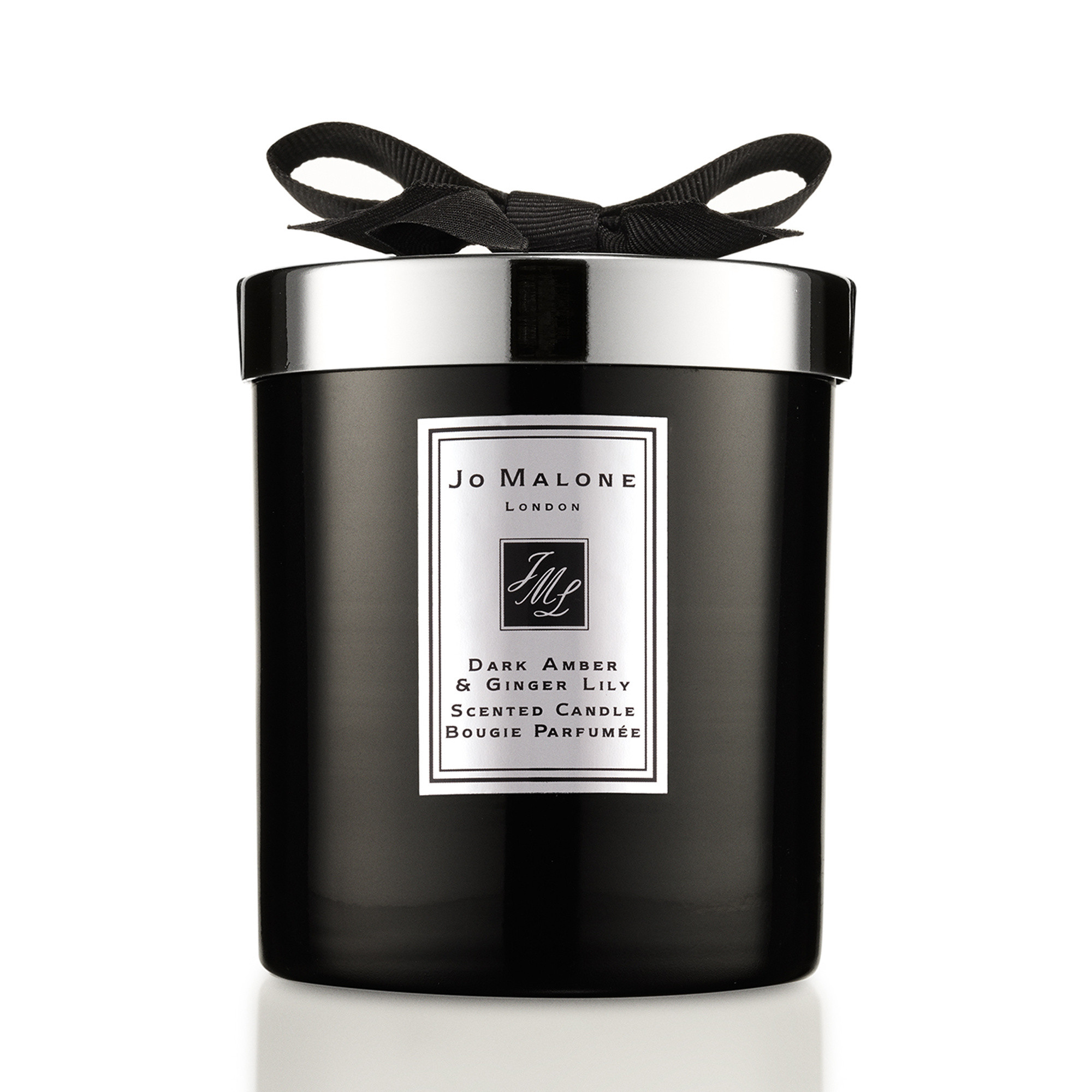 Jo Malone London dark amber & ginger lily home candle intense 200 g, Nero, large image number 0