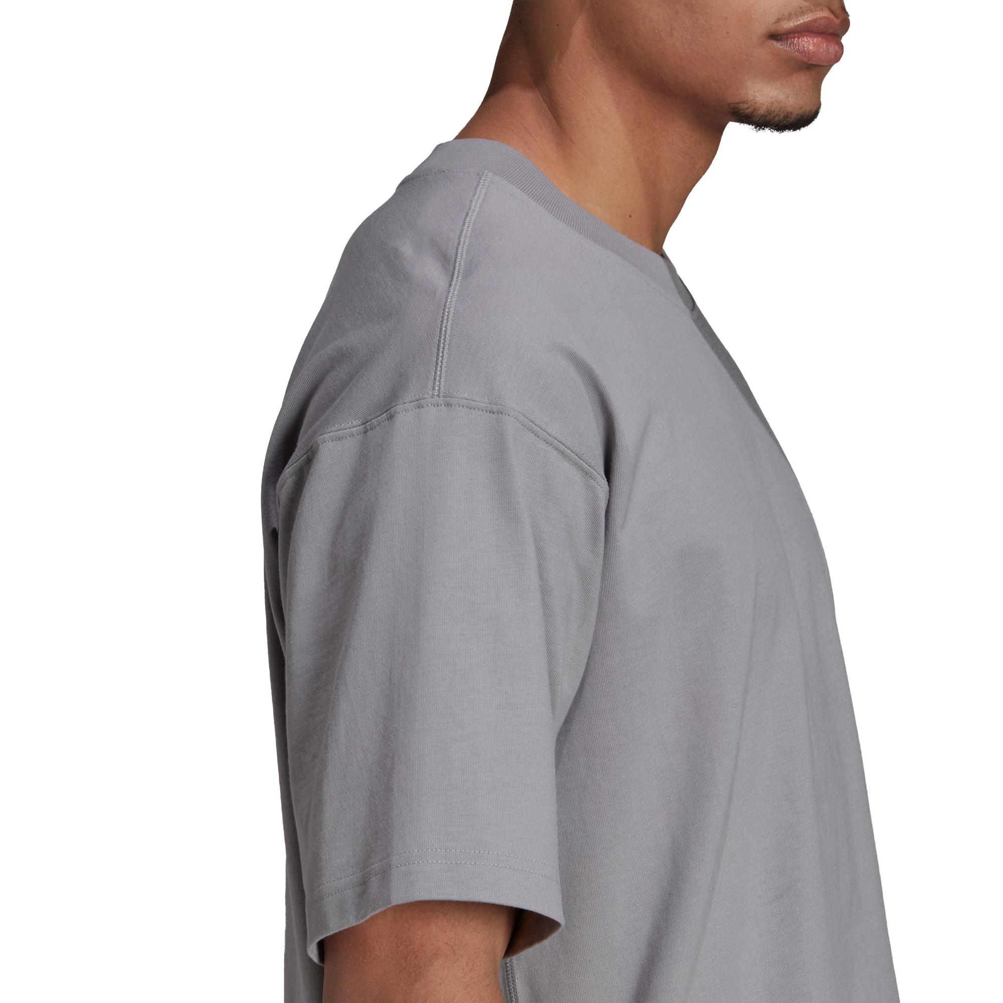 T-shirt uomo adicolor Trefoil, Grigio, large image number 5