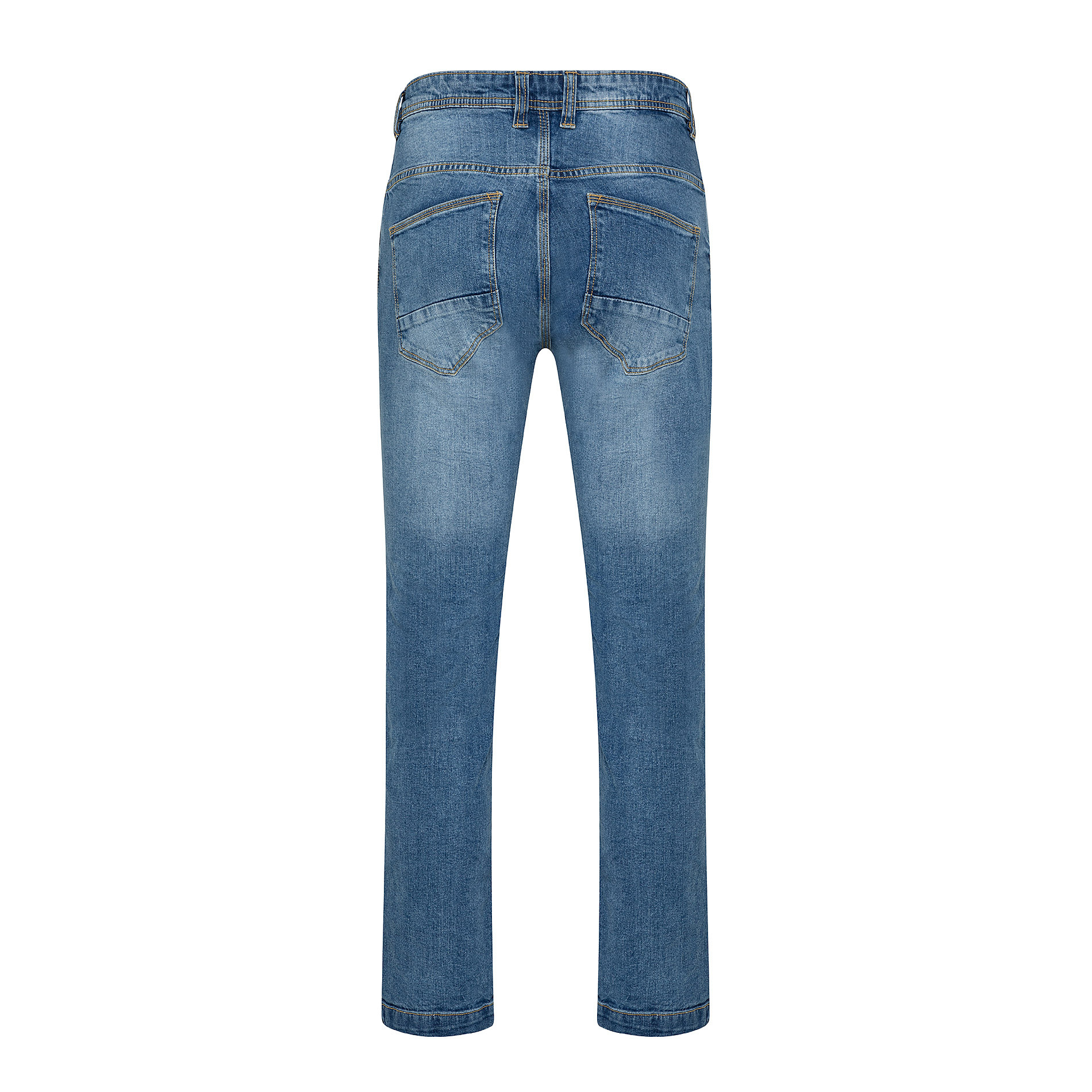 Jeans stretch 5 tasche JCT, Azzurro, large image number 1