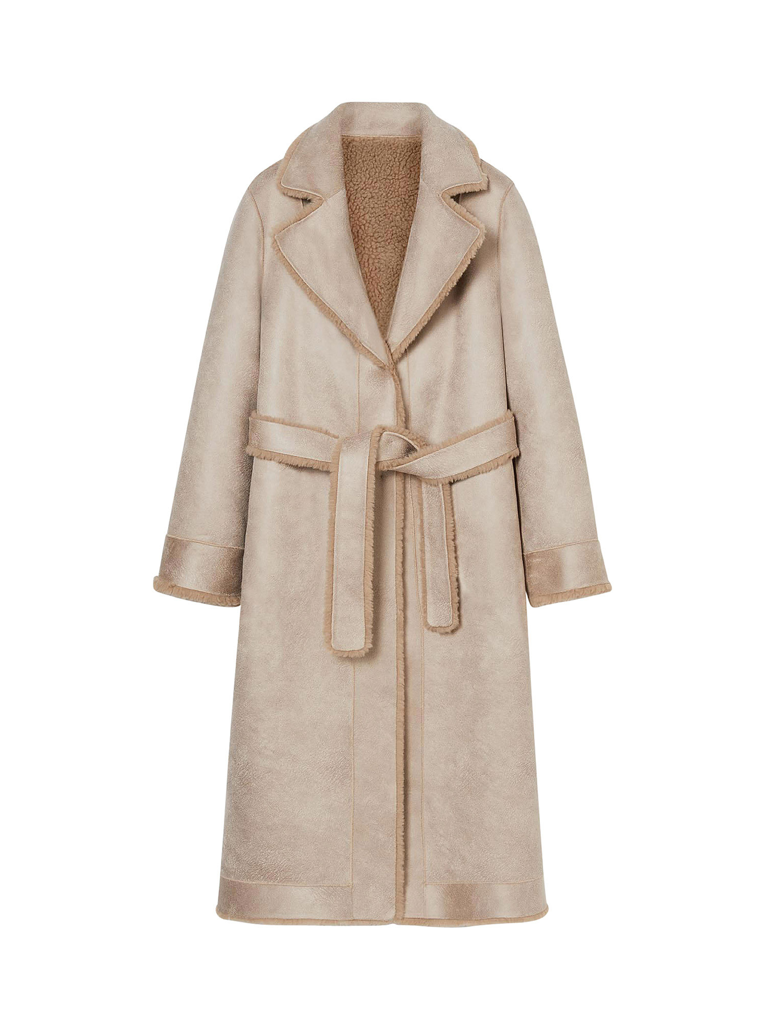 Cappotto reversibile, Beige, large image number 0
