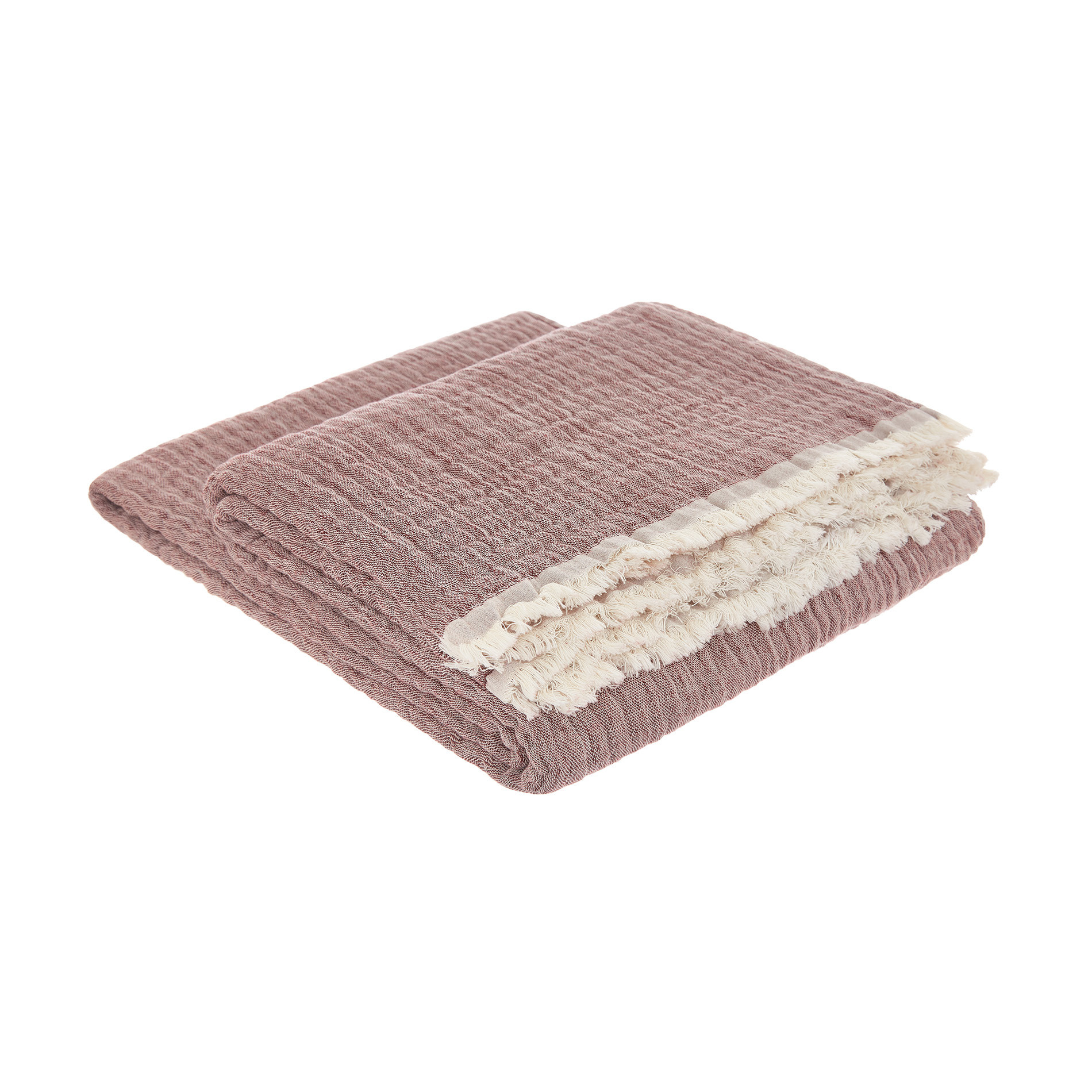 Plaid garza di cotone double-face, Beige scuro, large image number 0