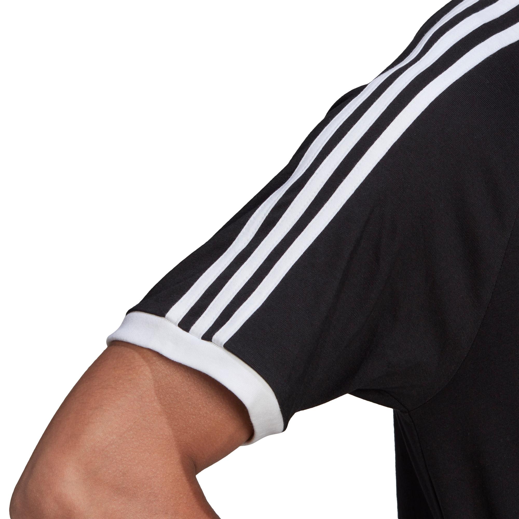 T-Shirt Adicolor Classics 3-Stripes, Nero, large image number 2