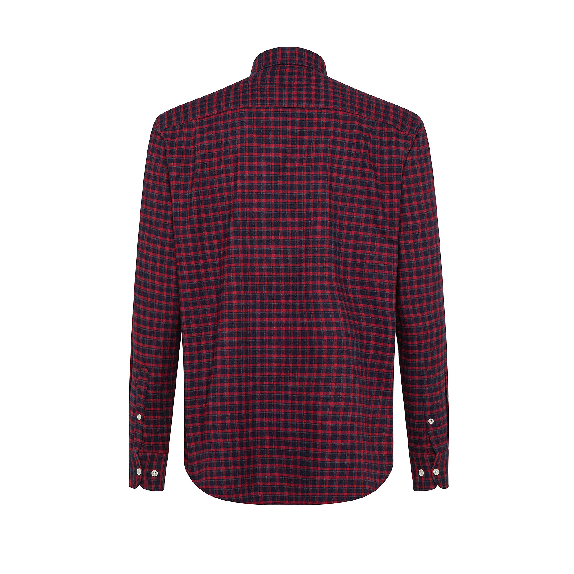 Camicia button-down regular fit in cotone organico, Rosso, large image number 1