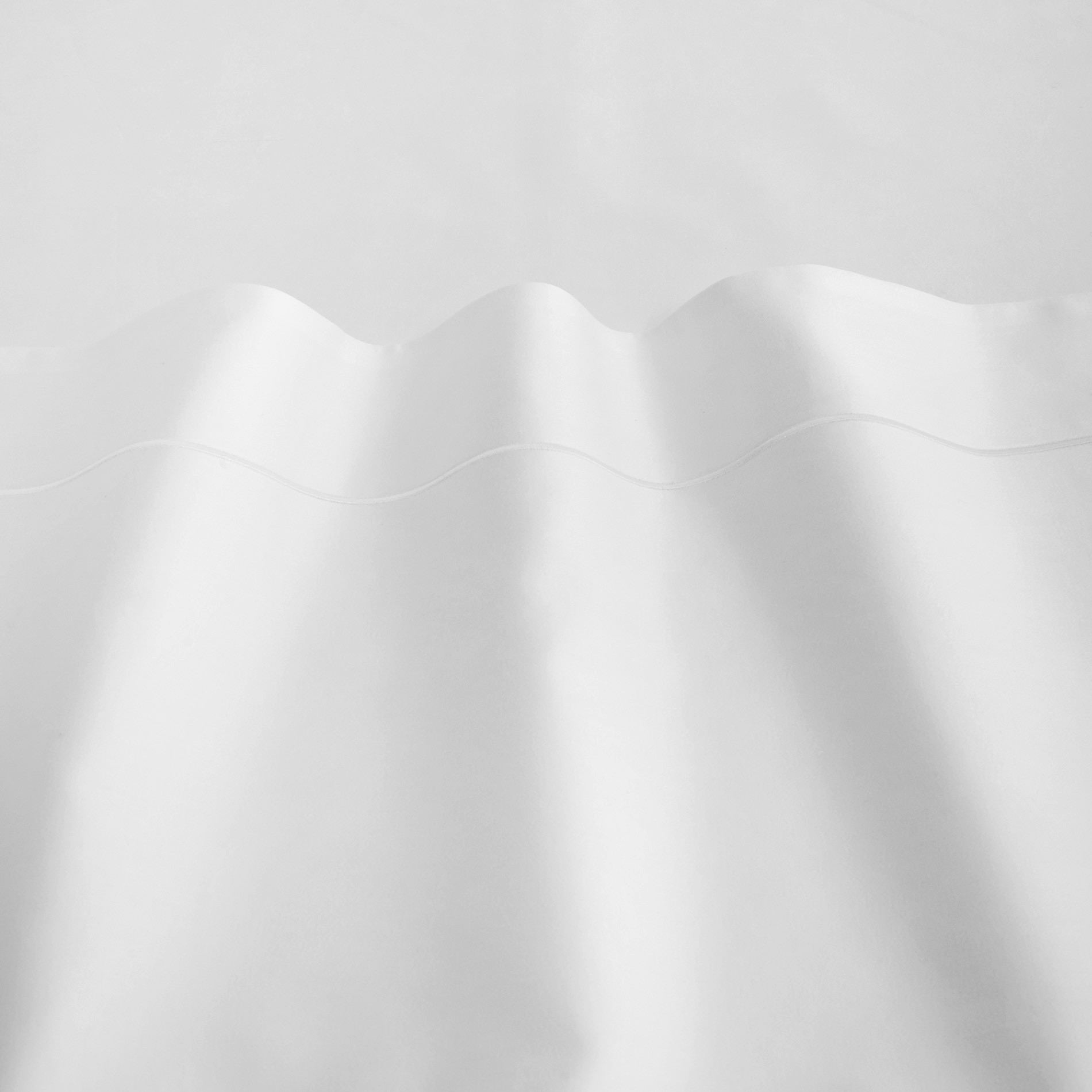 Lenzuolo liscio raso alta qualità Interno 11, Bianco, large image number 2