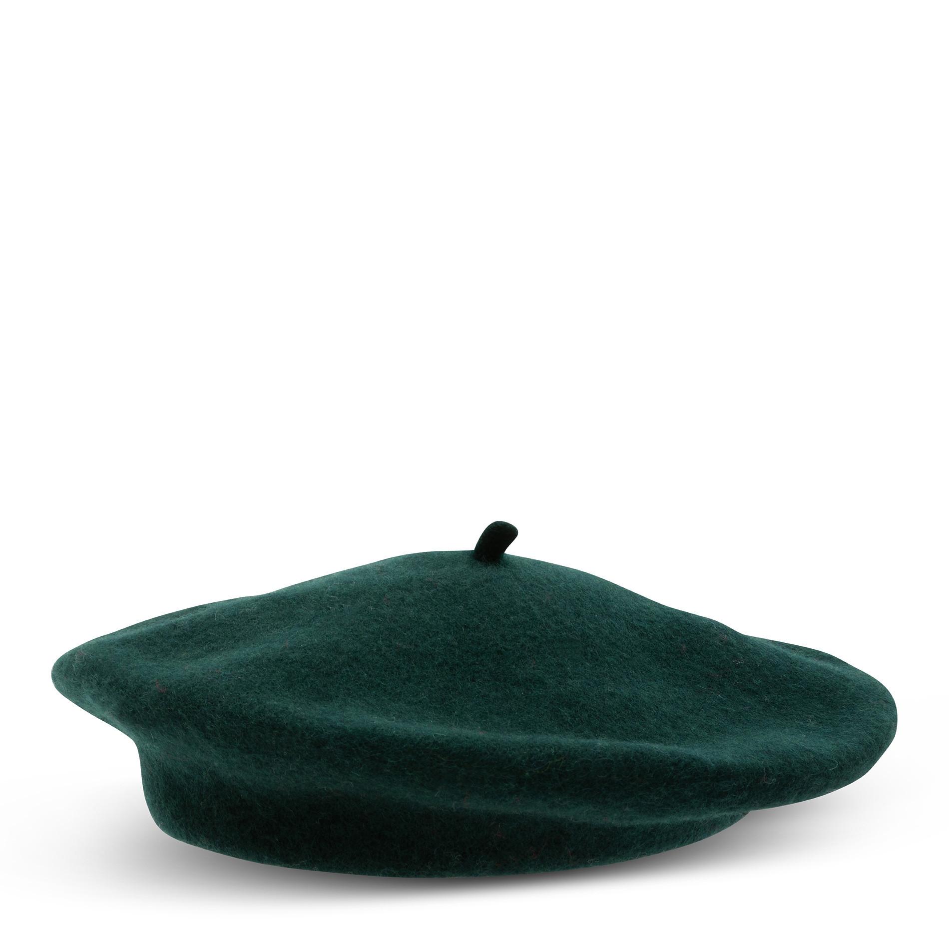 Basco pura lana tinta unita Koan, Verde scuro, large image number 0