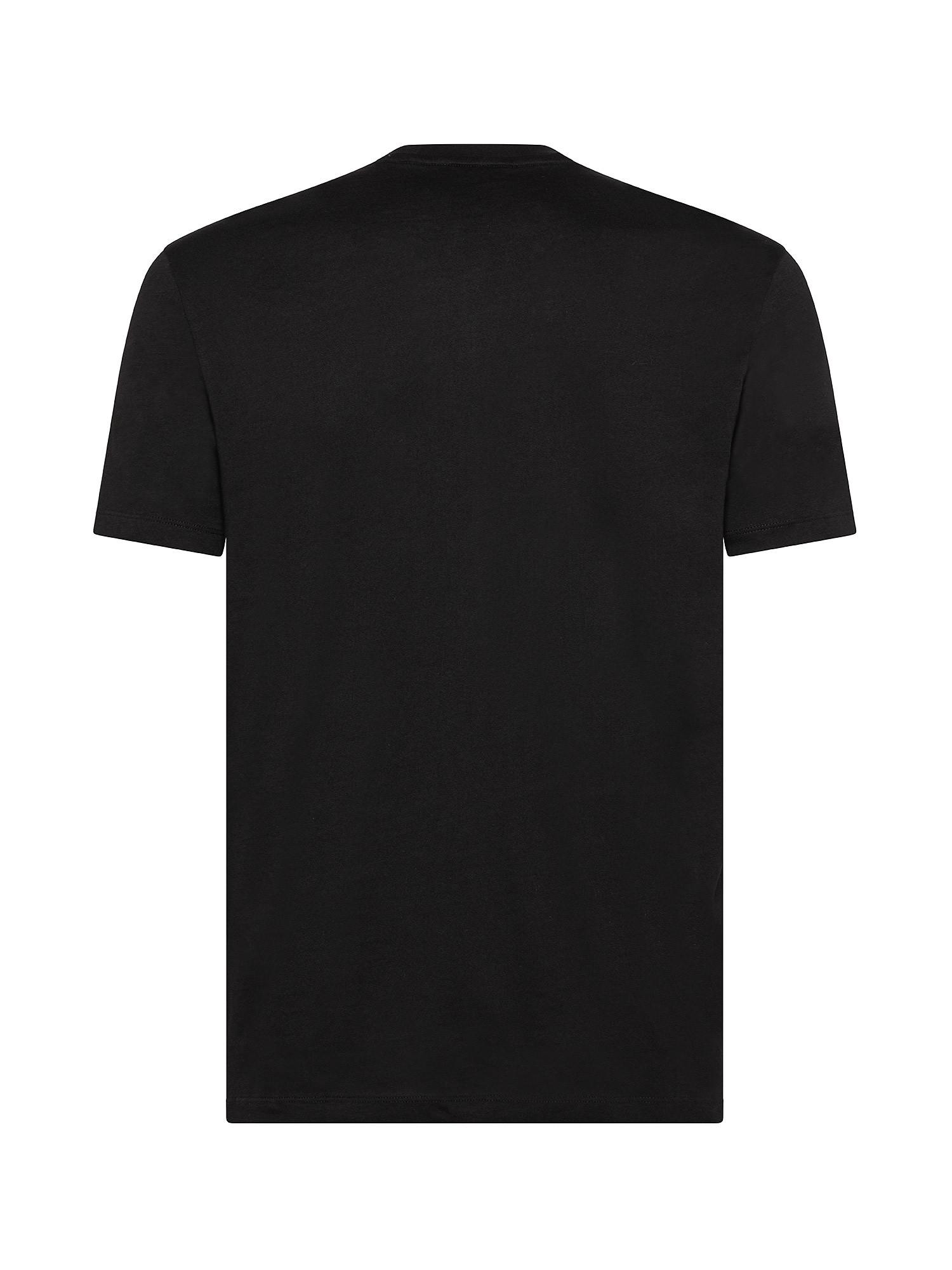 T-Shirt, Nero, large image number 1