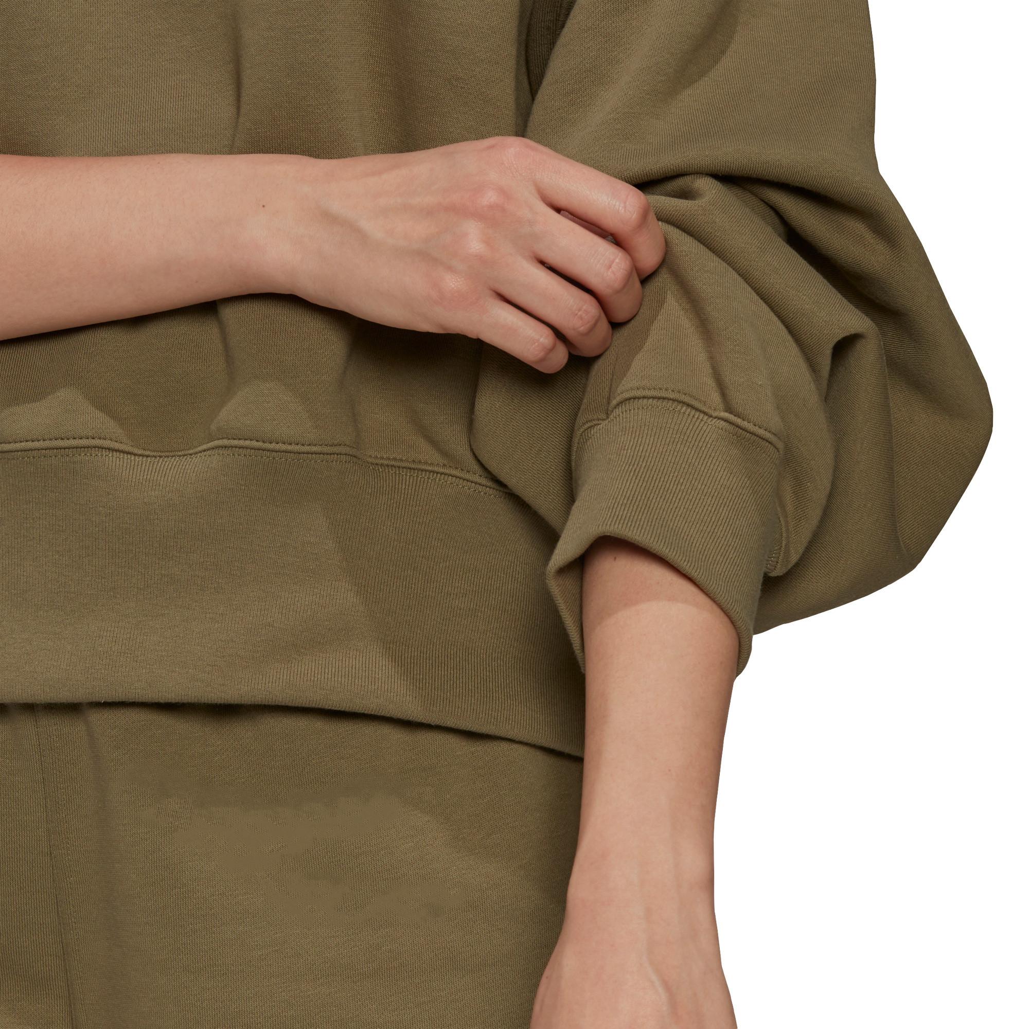 Felpa adicolor Essentials Fleece, Verde, large image number 5