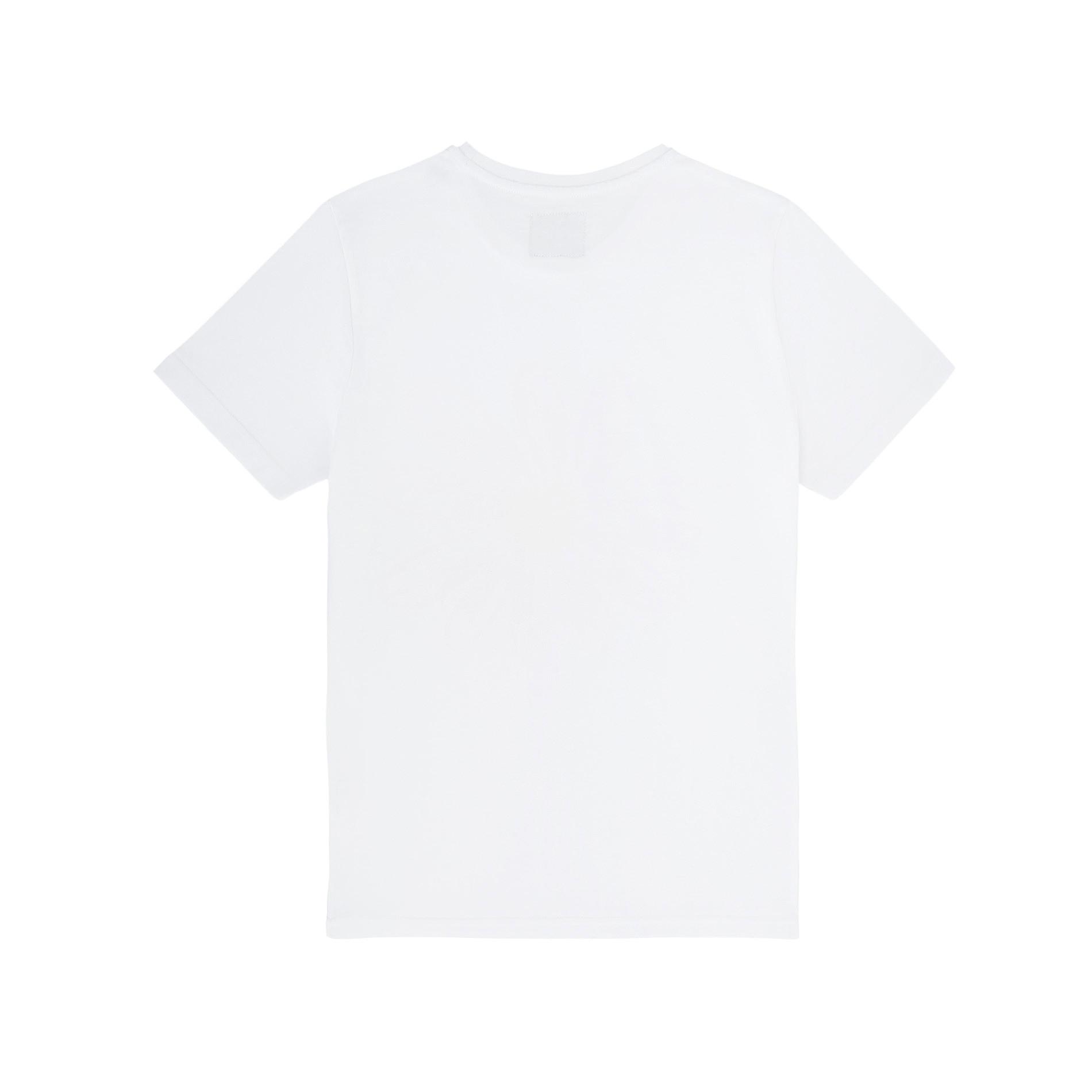 T-shirt puro cotone #mamaononmama, Bianco, large image number 1