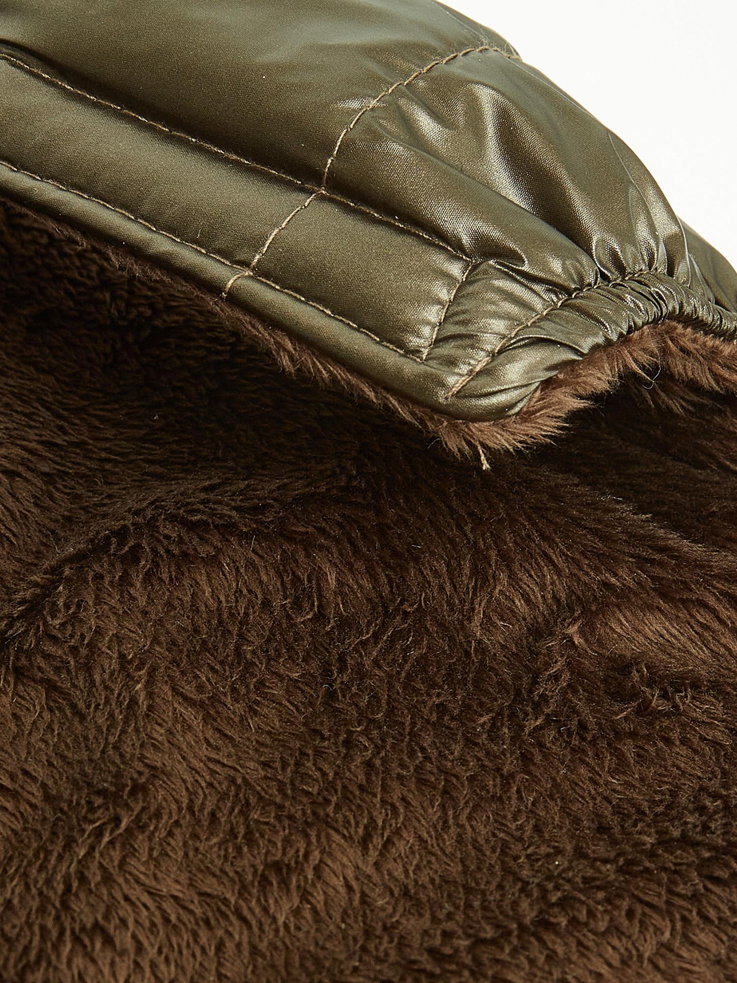 Cappottino tessuto impermeabile antivento Vermont, Marrone ottone, large image number 4