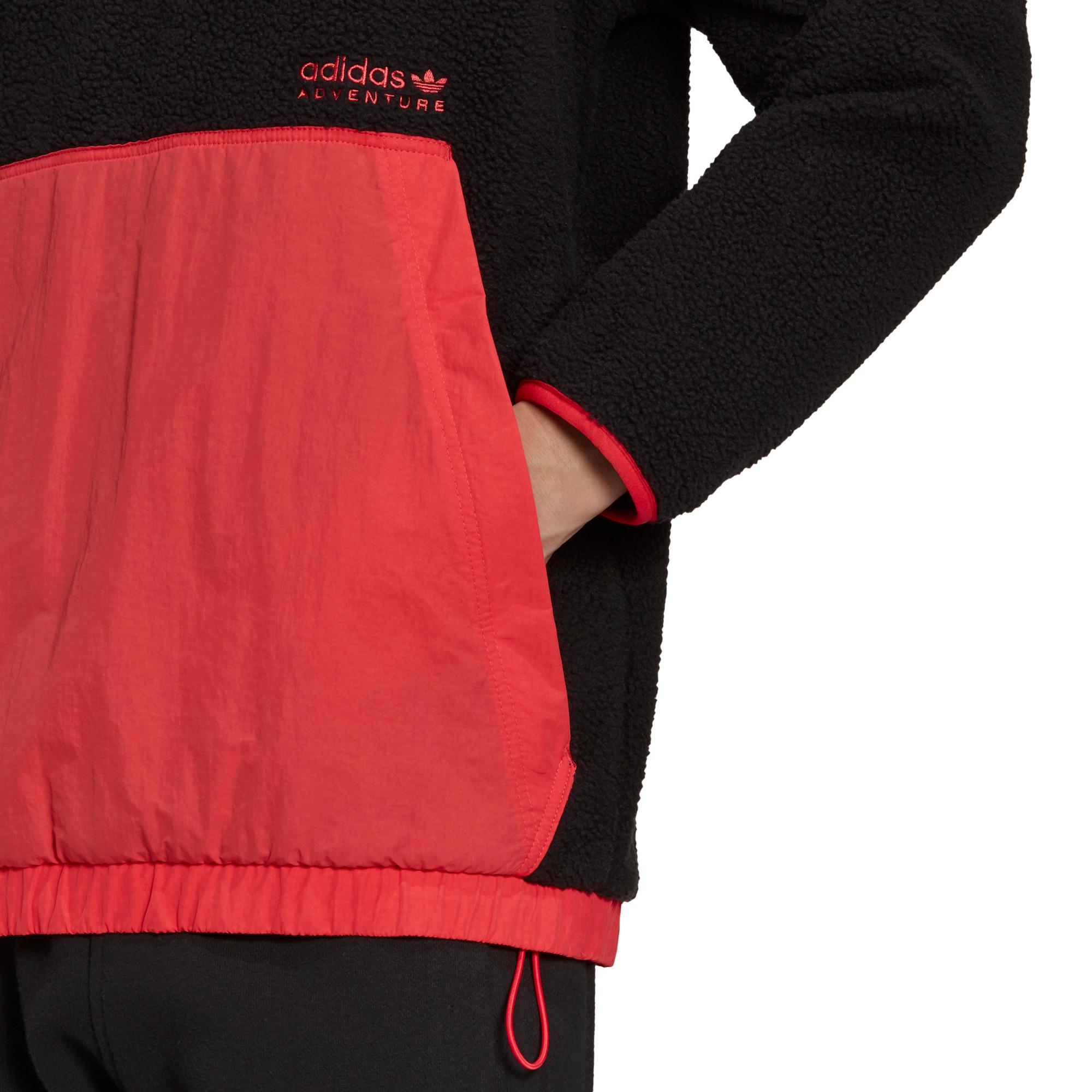 Felpa con cappuccio adidas Adventure Polar Fleece, Nero, large image number 5