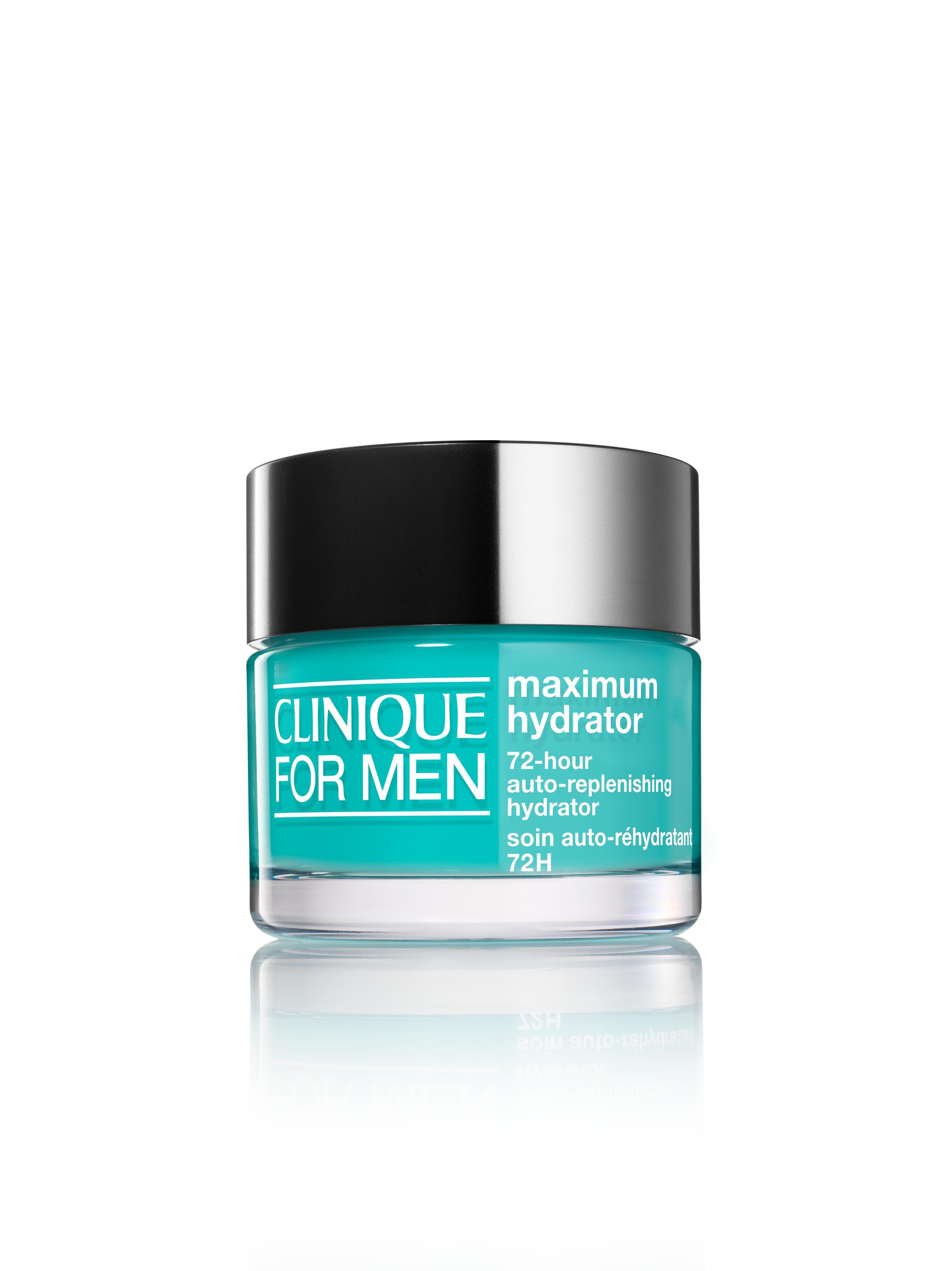 Clinique men maximum hydrator 72h crema gel 50 ml, Nero, large image number 0