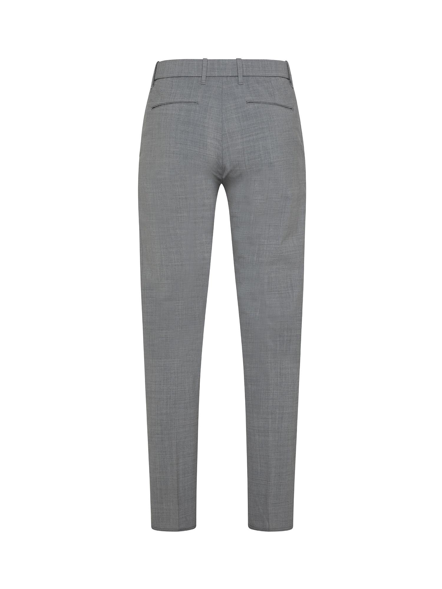 Pantaloni Chino coulisse, Grigio, large image number 1