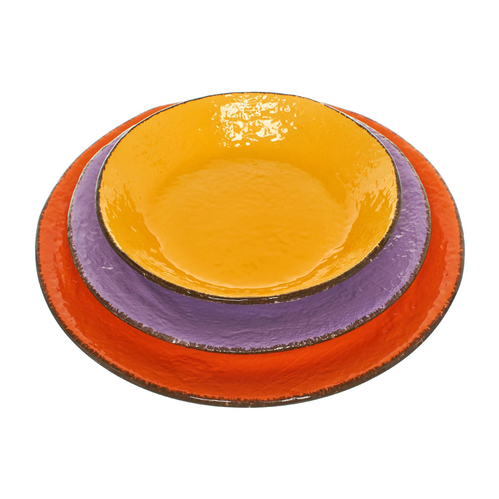 Preta handmade ceramic plate, Purple Lilac, large image number 3