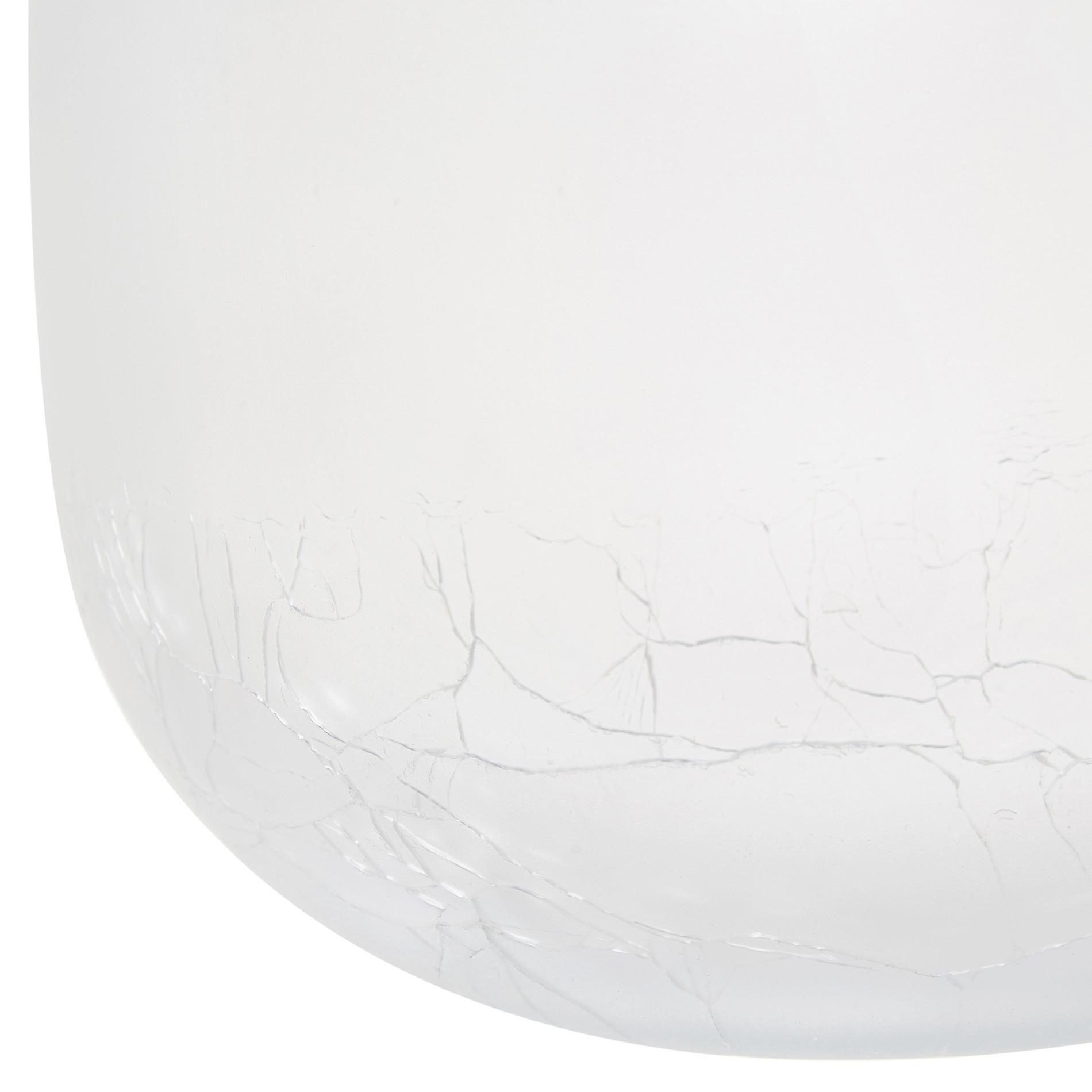 Vaso vetro colorato in pasta, Blu, large image number 1