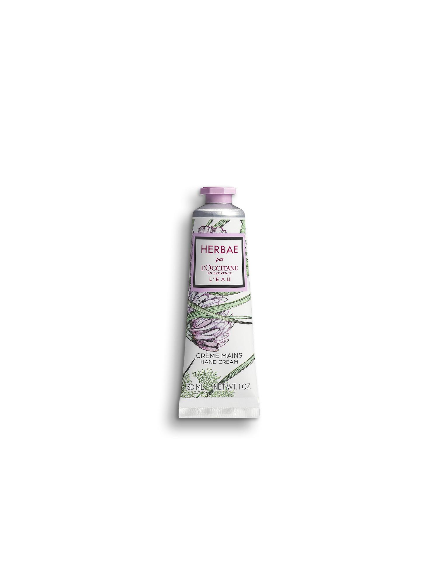 Crema Mani Herbae L'Eau 30 ml, Trasparente, large image number 0