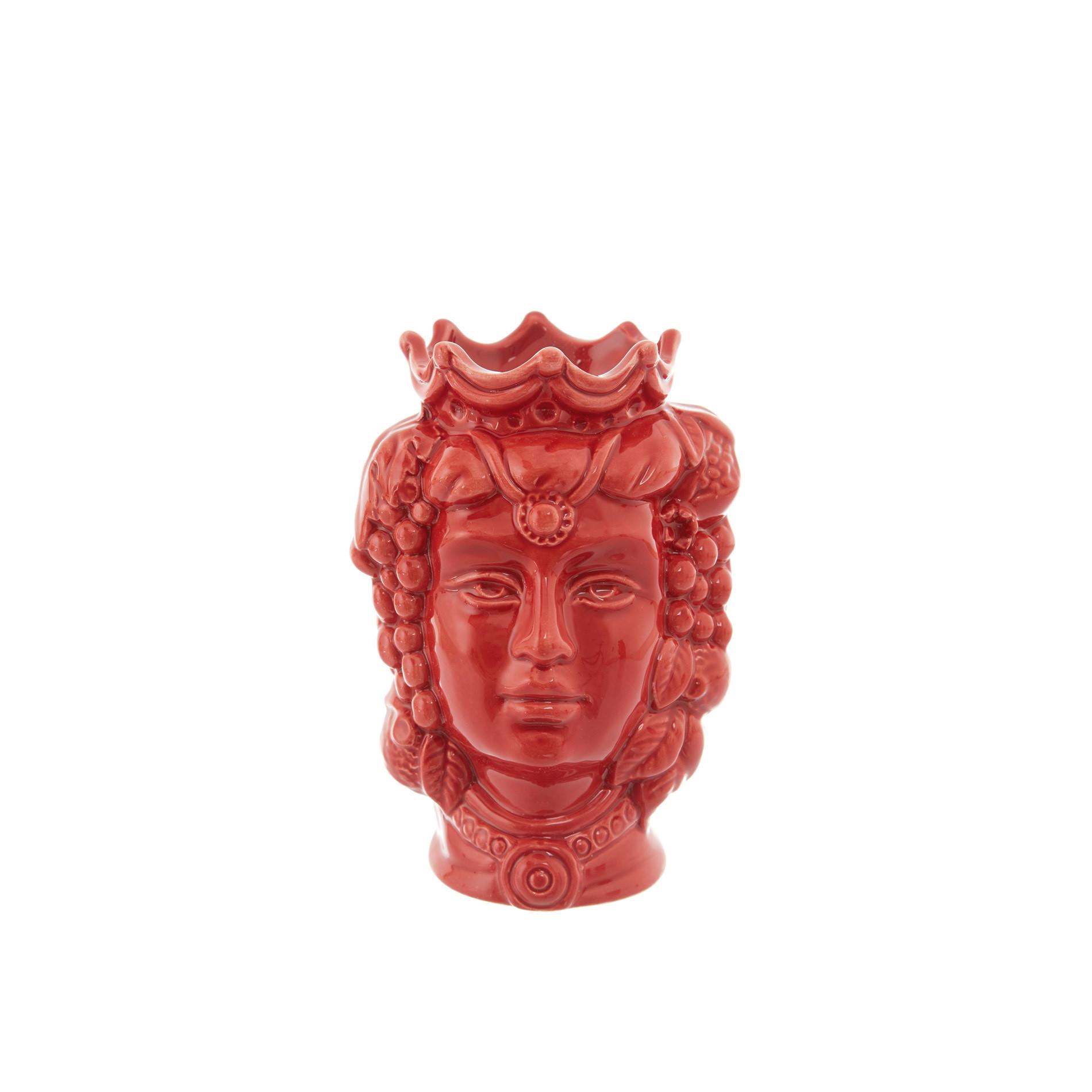 Testa di moro by Ceramiche Siciliane Ruggeri, Rosso, large image number 0
