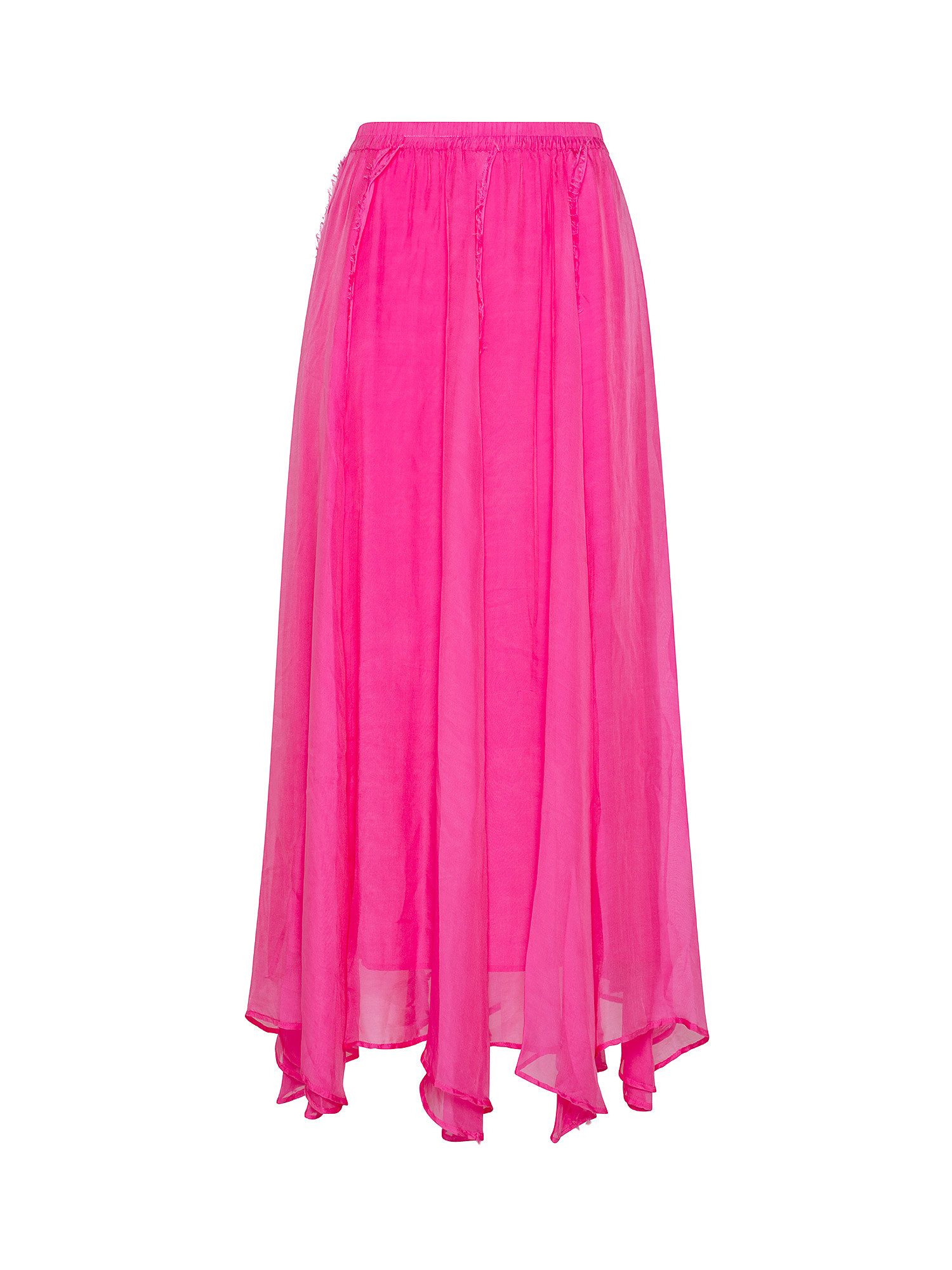 Gonna in chiffon  Chili, Rosa fuxia, large image number 0