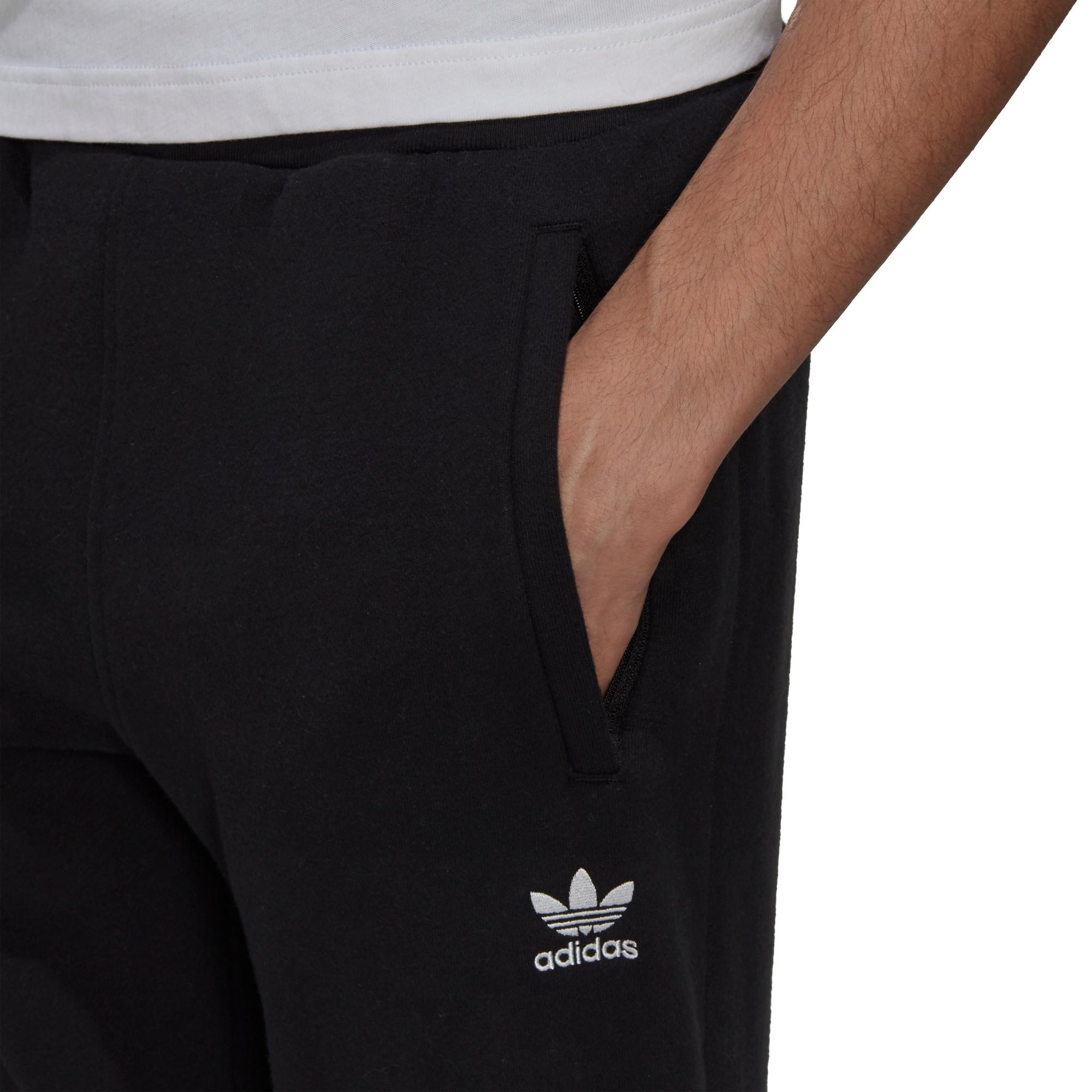 Pantaloni adicolor Essentials Trefoil, Nero, large image number 4