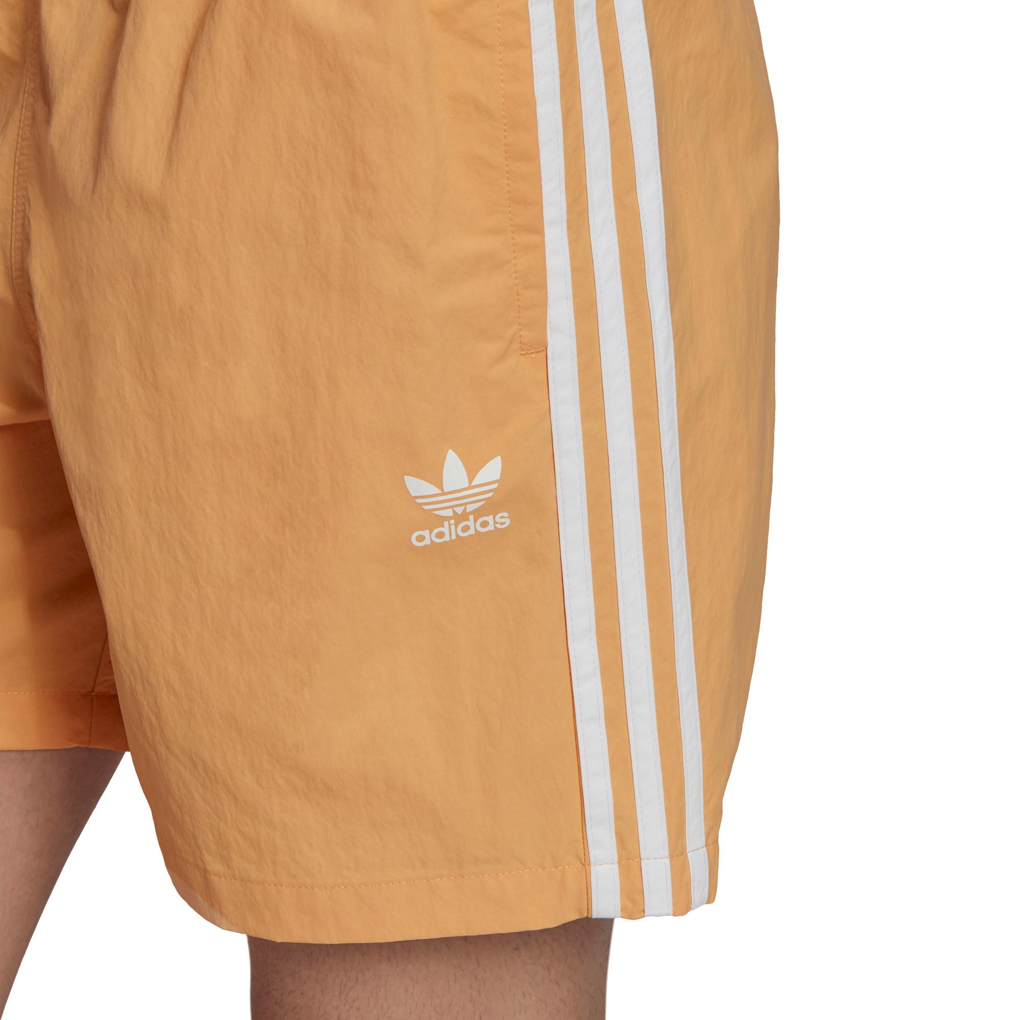 Short da nuoto adicolor classics 3-stripes, Arancione, large image number 5