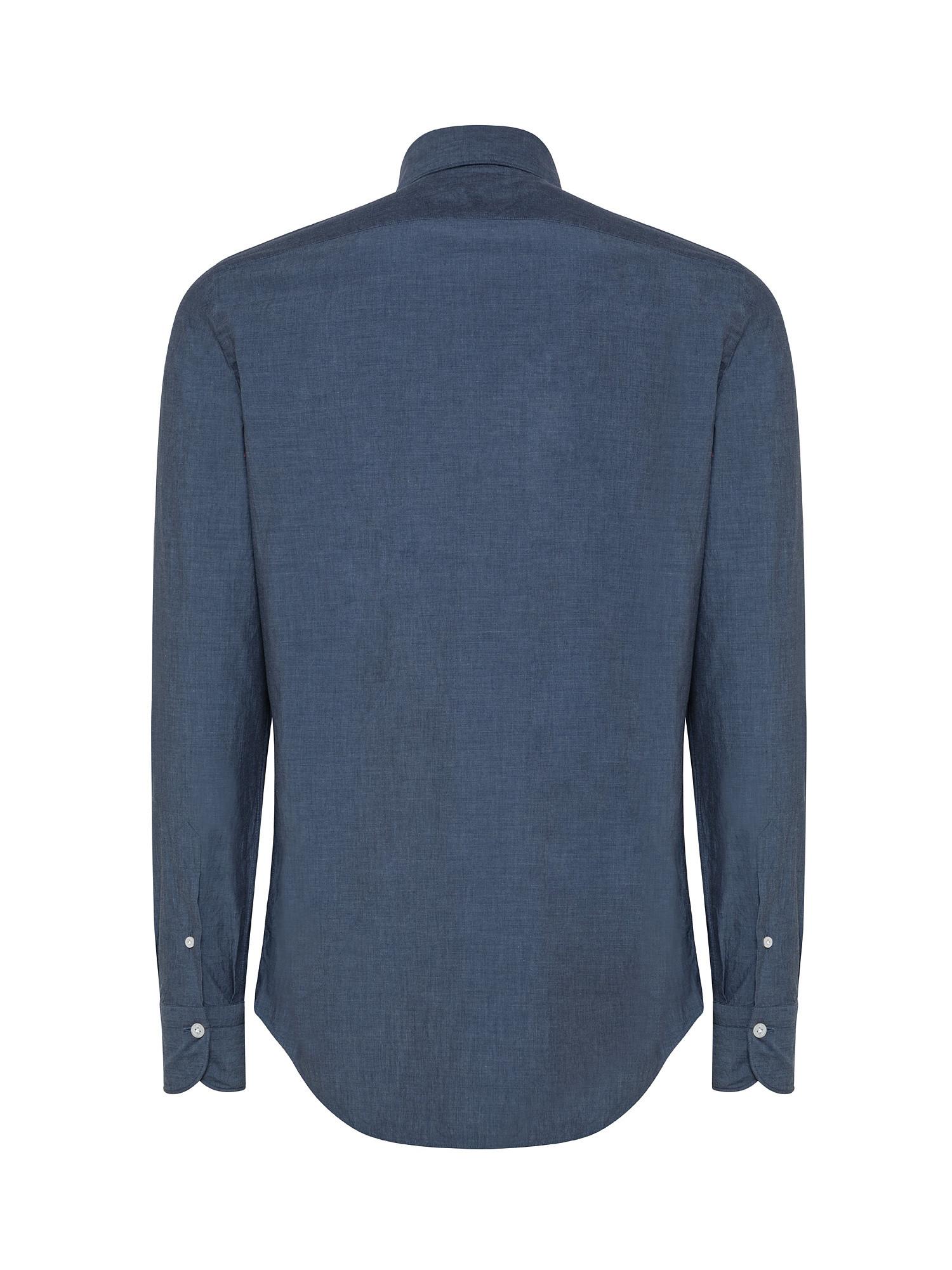 Camicia uomo slim fit, Denim, large image number 1