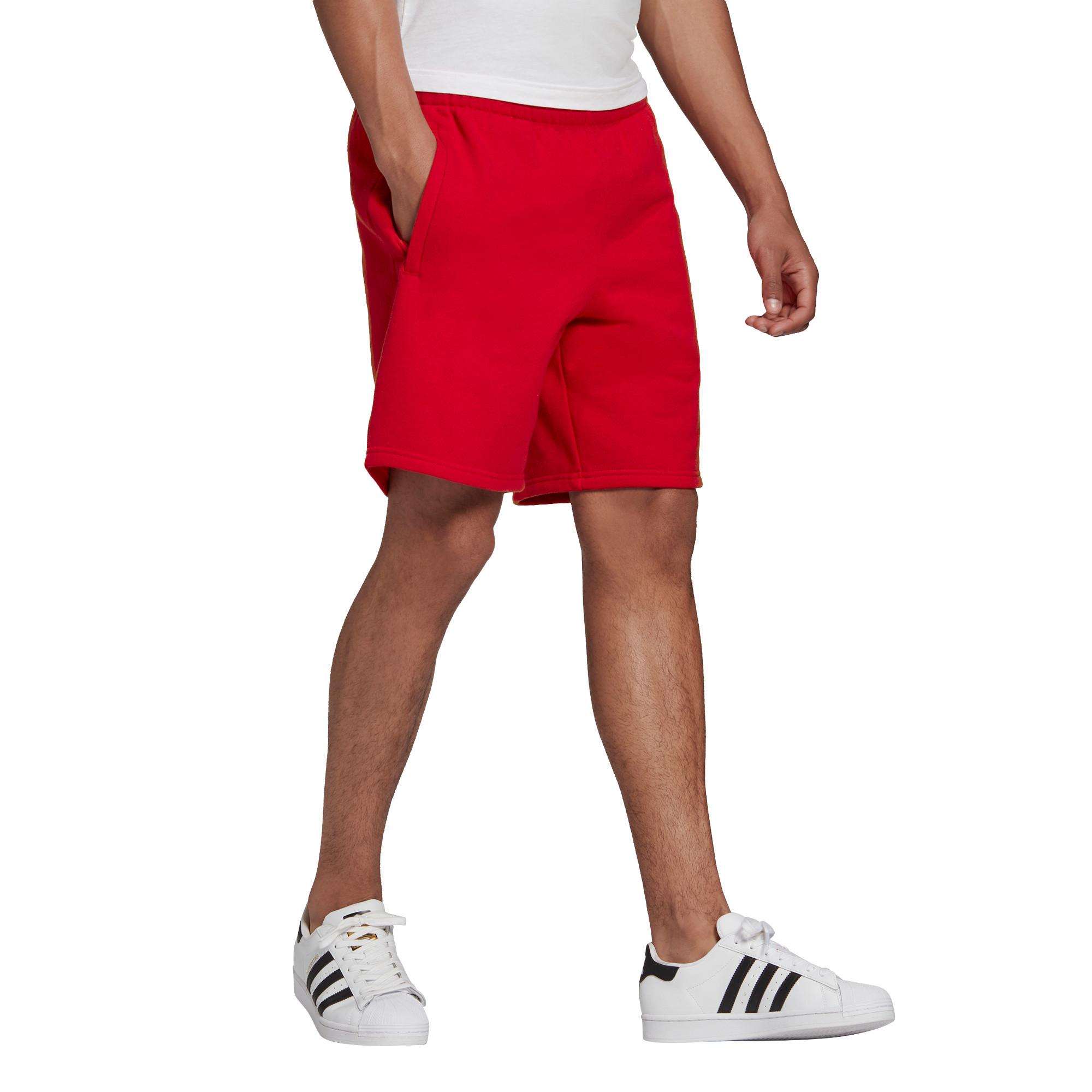 Short loungewear trefoil Essentials, Rosso, large image number 8