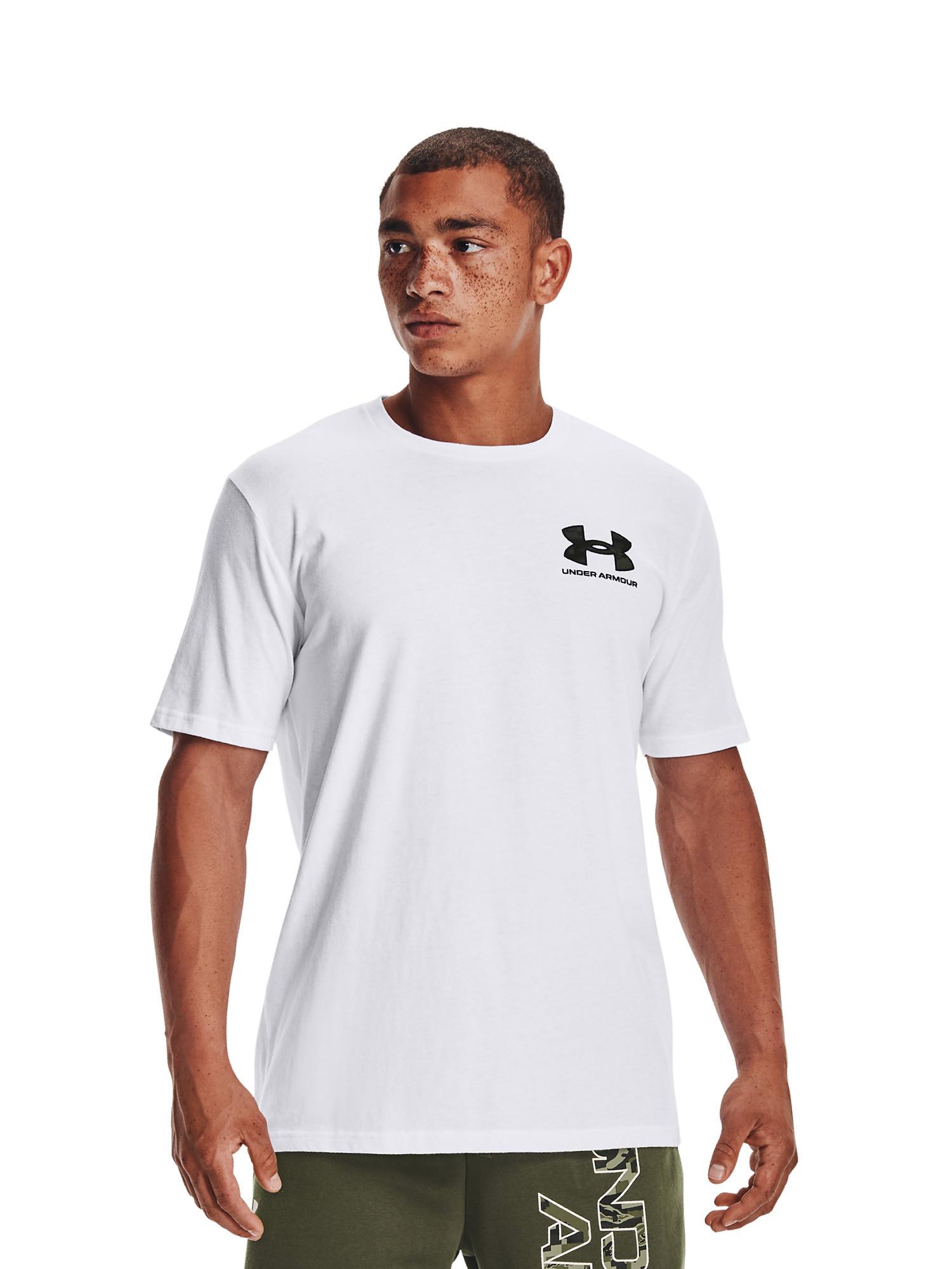 T-shirt sportiva uomo , Bianco, large image number 2