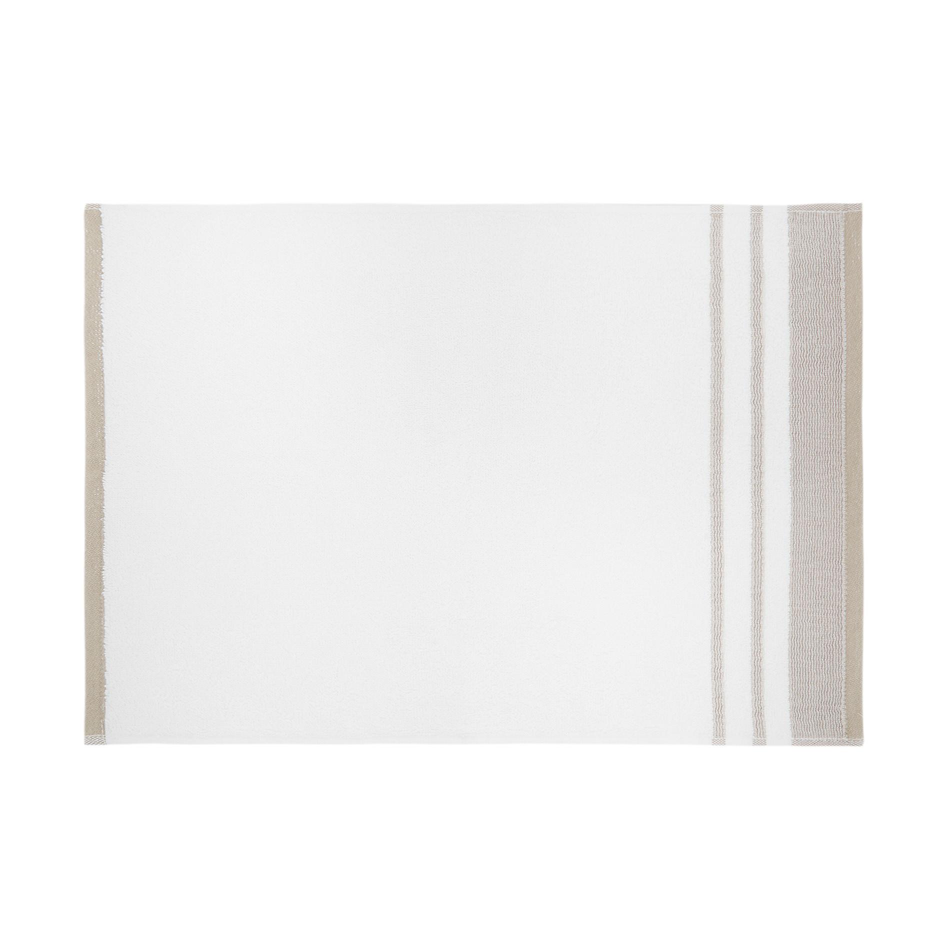 Asciugamano spugna di cotone balza goffrata, Beige scuro, large image number 2