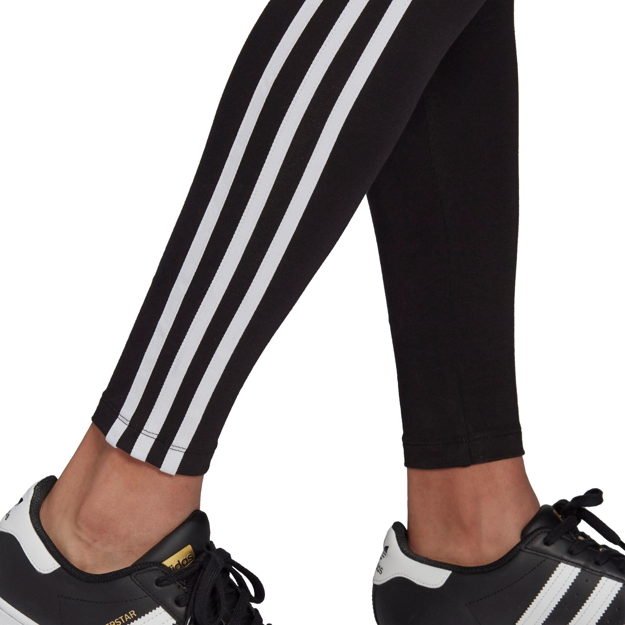 Tight adicolor Classics 3-Stripes, Nero, large image number 3