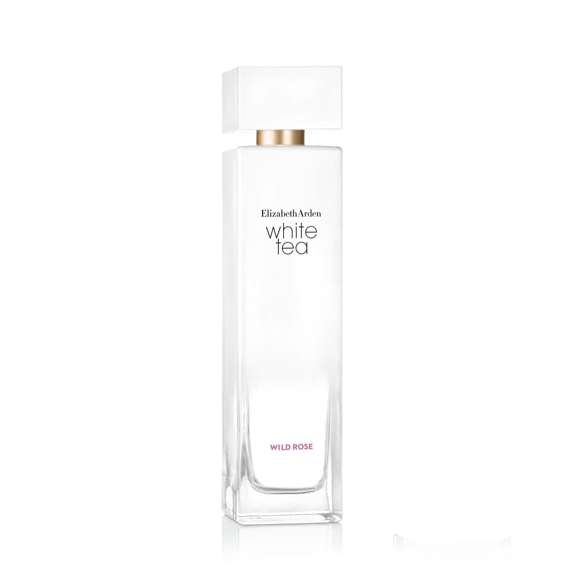 White Tea Wild Rose Eau De Toilette Spray 100 ml, Bianco, large image number 0