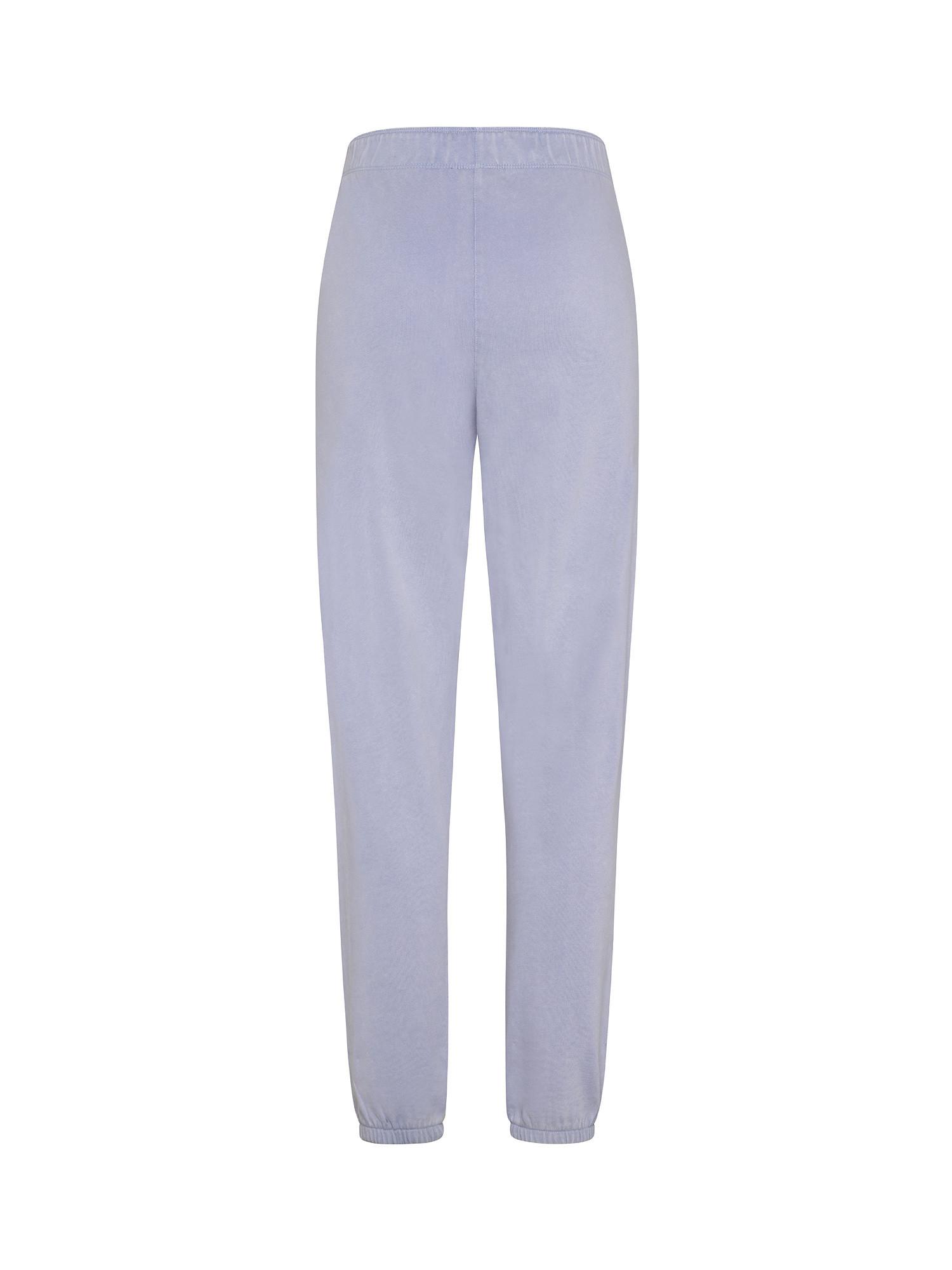 Pantaloni boyfriend acid wash, Azzurro, large image number 1