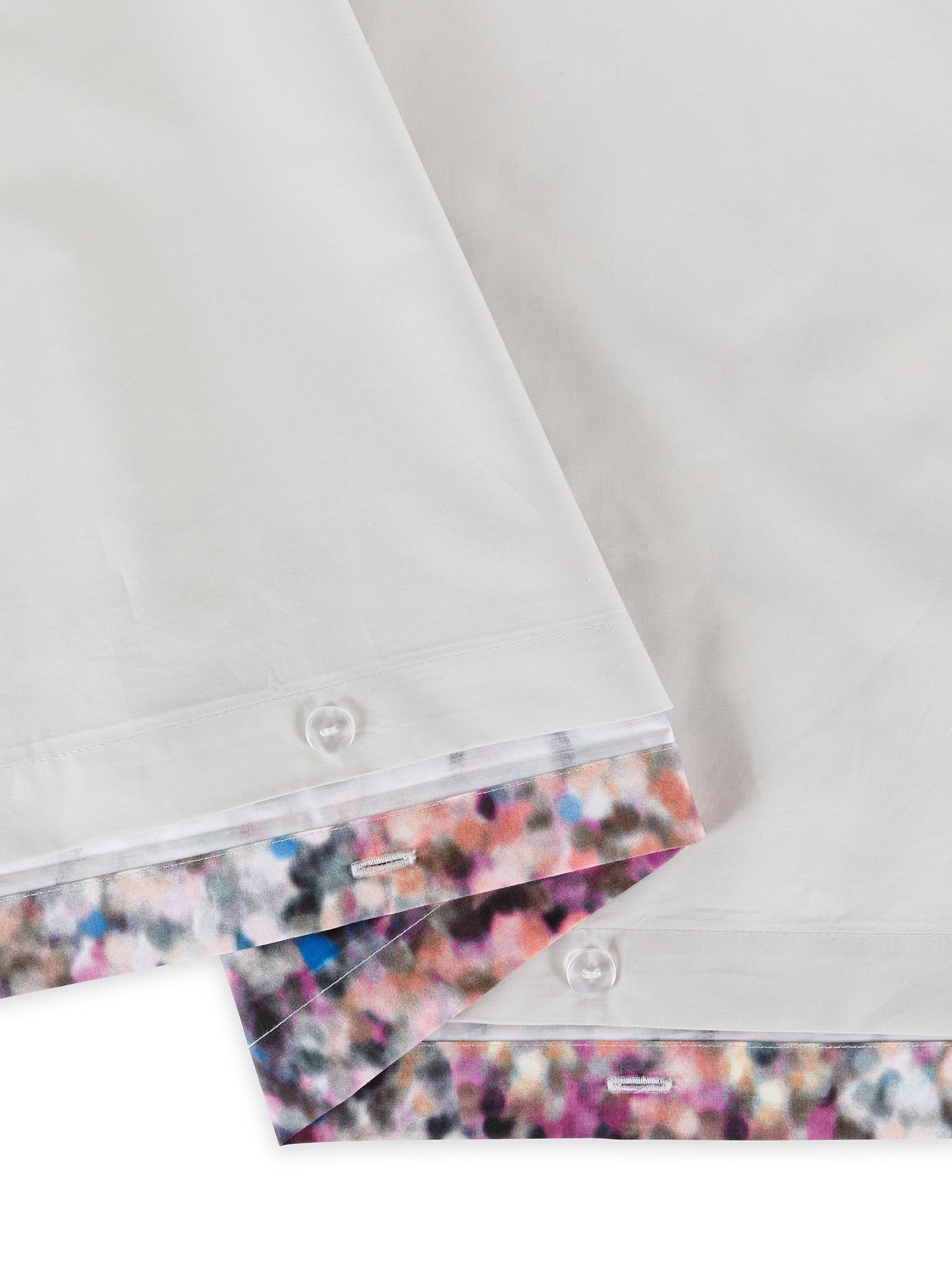 Copripiumino cotone percalle fantasia a puntini, Multicolor, large image number 2