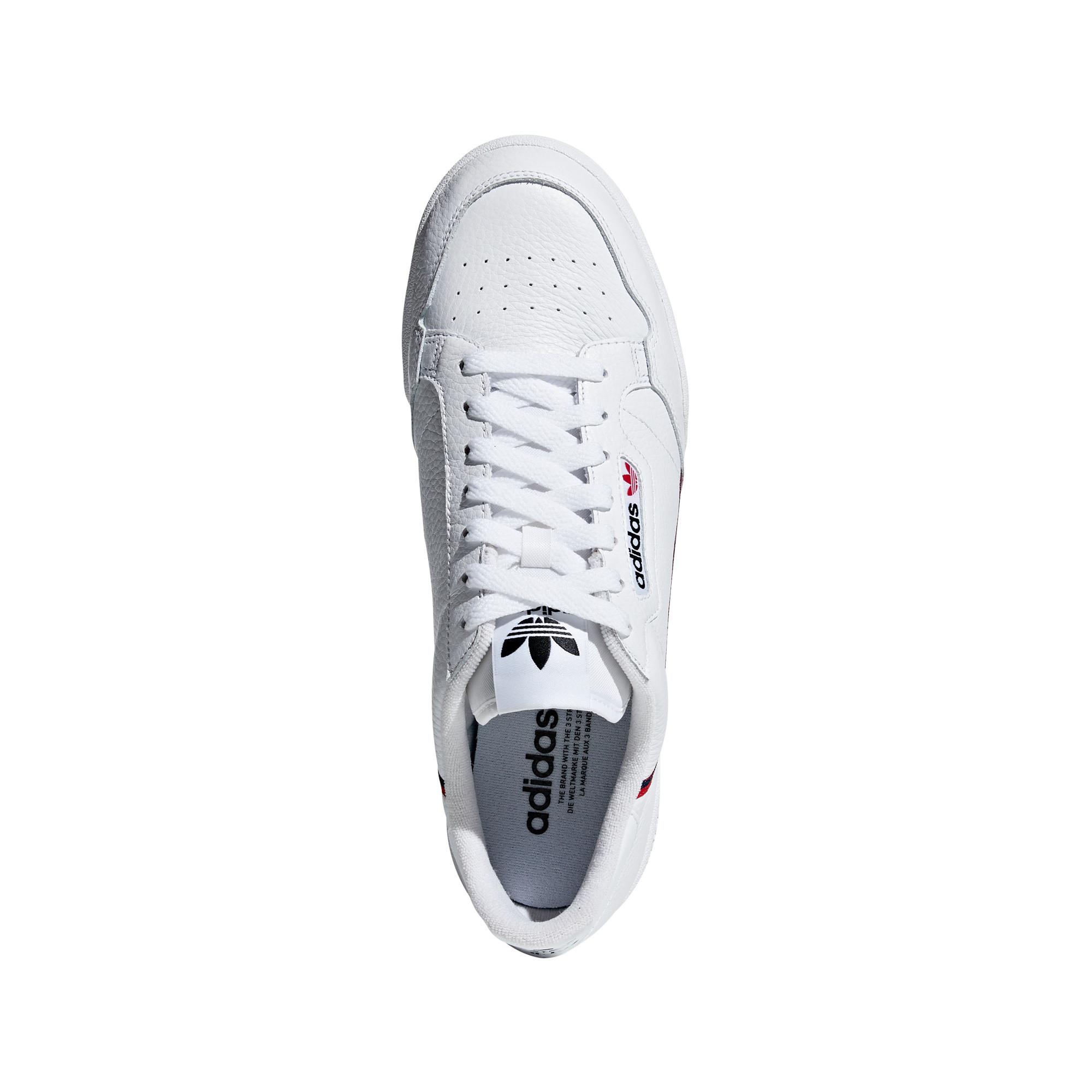 Scarpe uomo Continental 80, Bianco, large image number 7