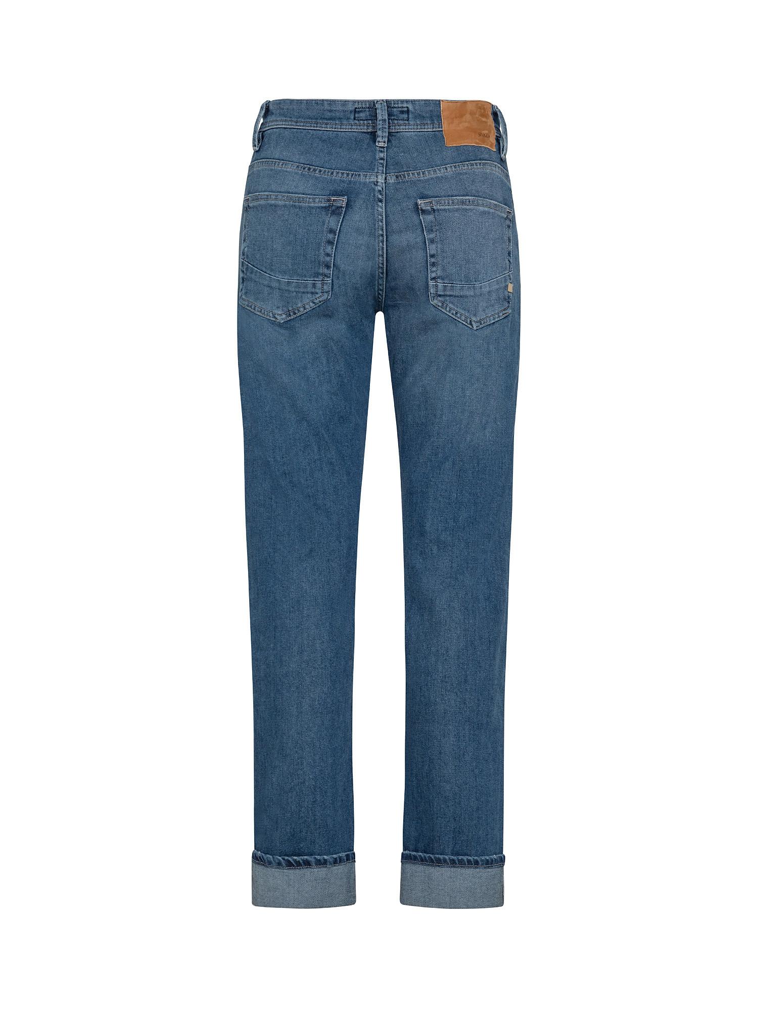 Pantalone denim, Blu, large image number 1